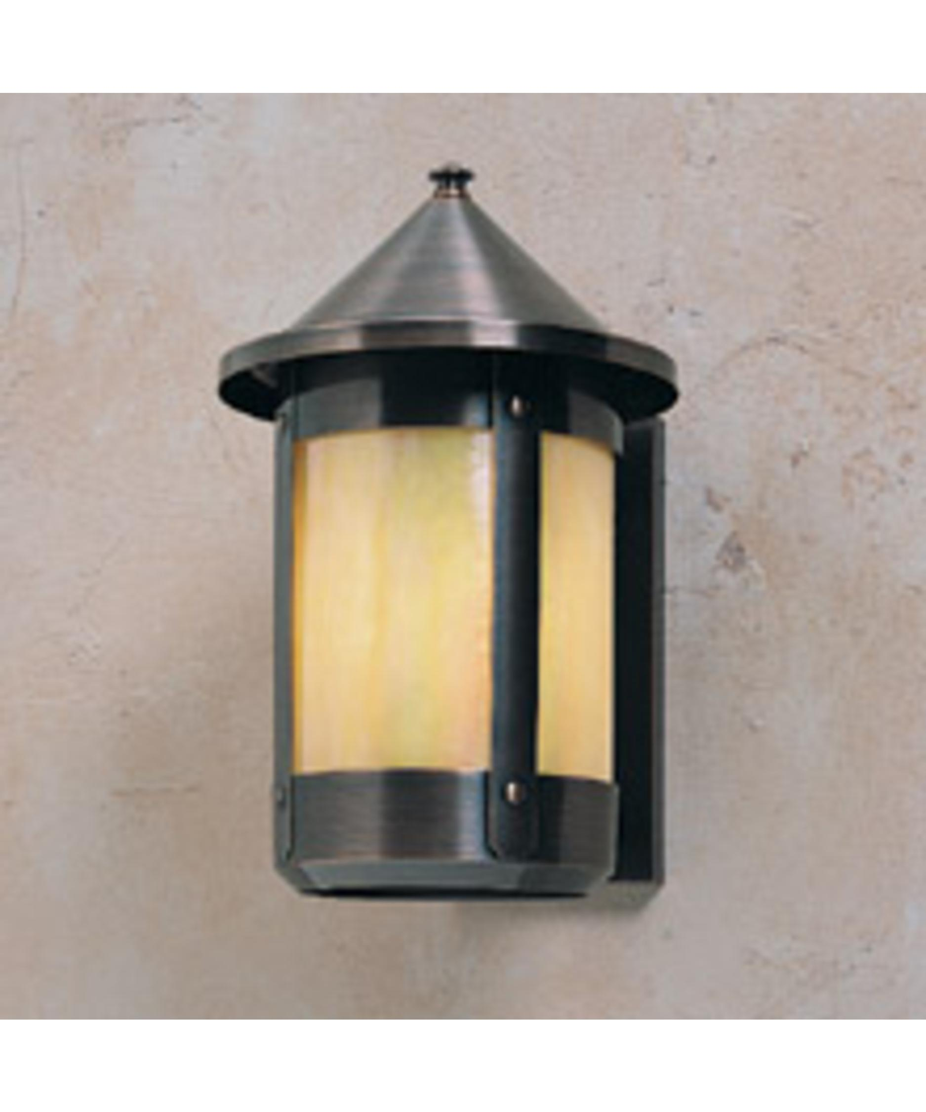 shown in antique copper finish with gold white iridescent glass arroyo craftsman lighting