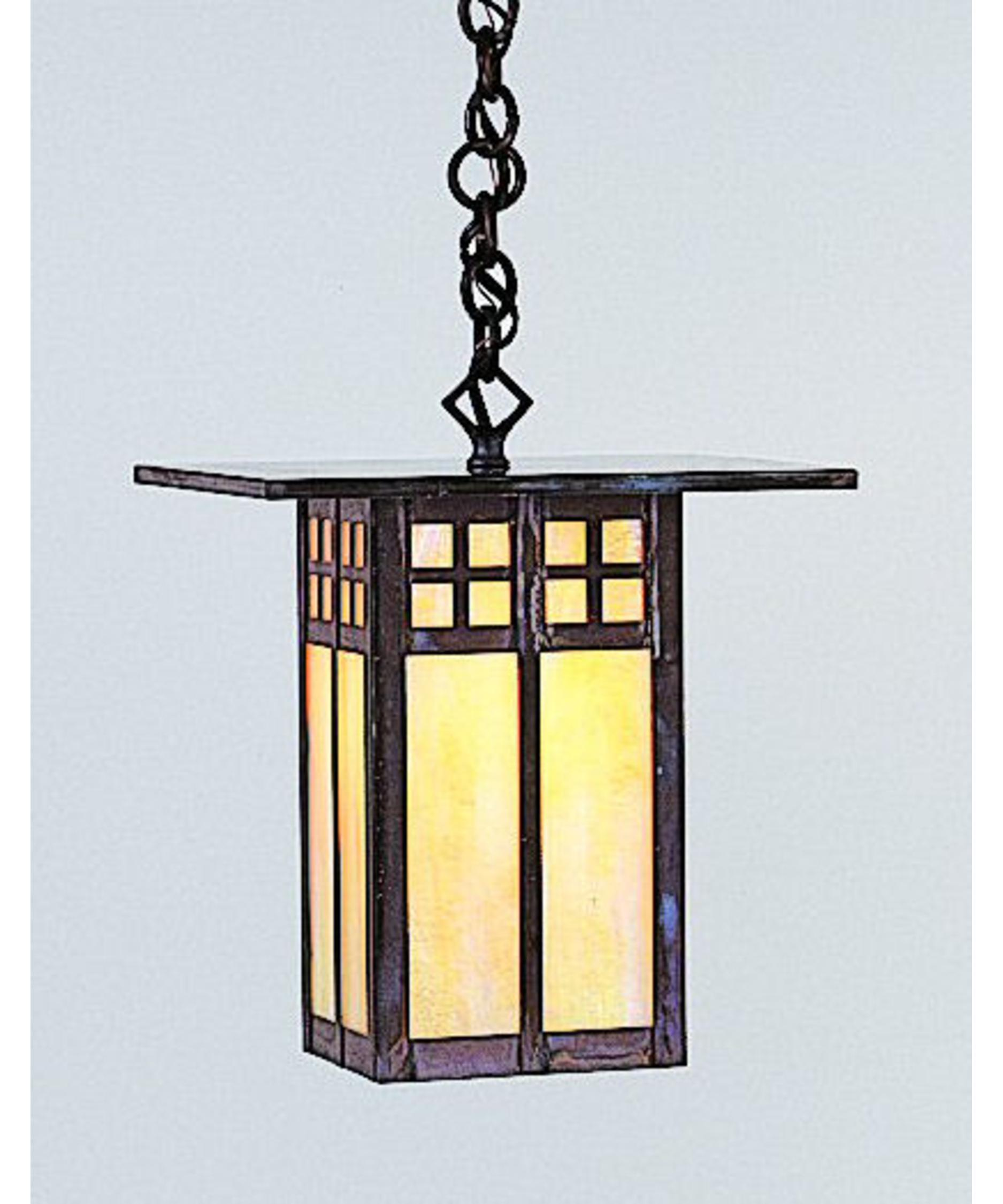 Arroyo Craftsman Glasgow 1 Light Outdoor Hanging Lantern