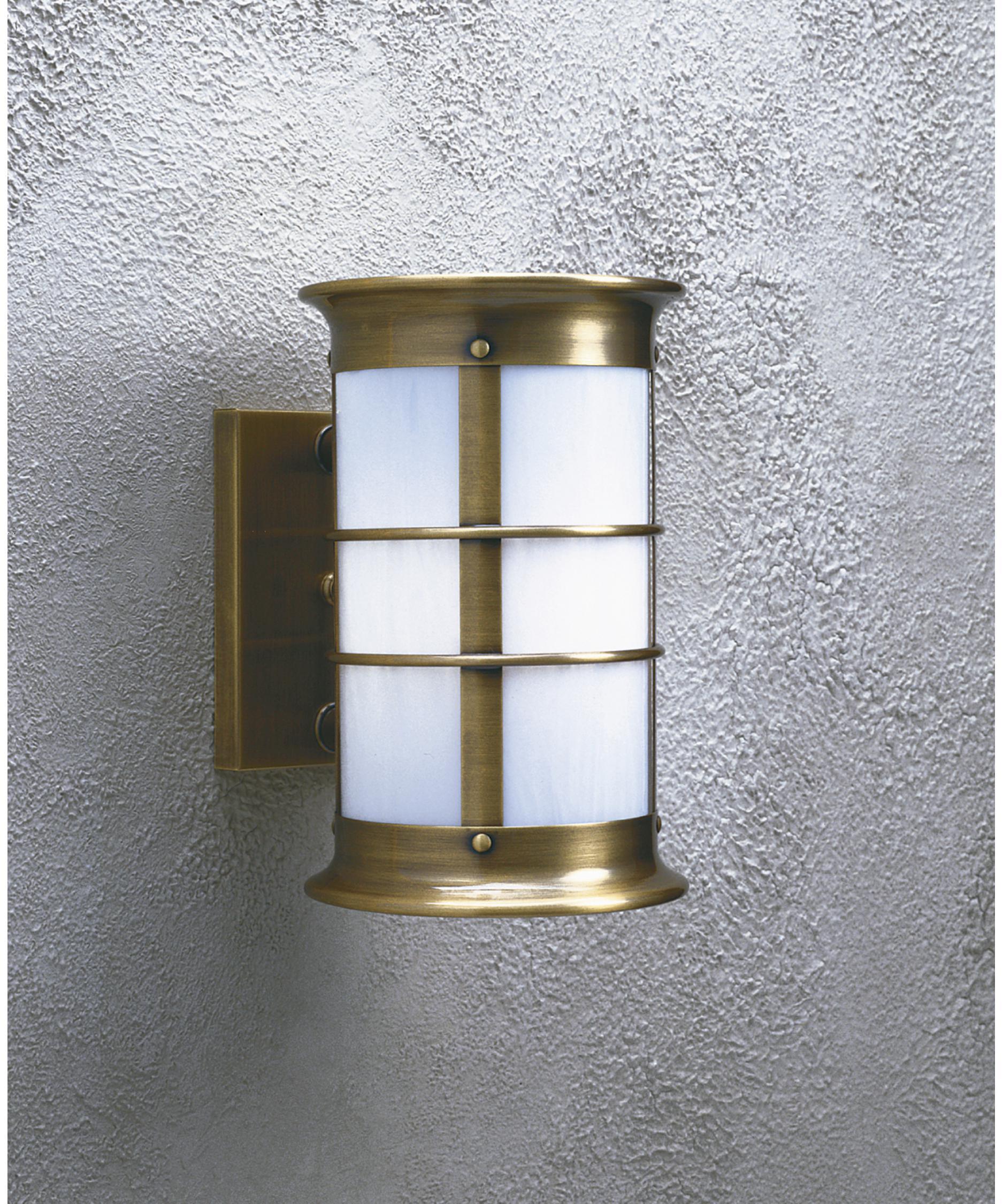 Arroyo Craftsman NS 9LNRW Newport 1 Light Outdoor Wall