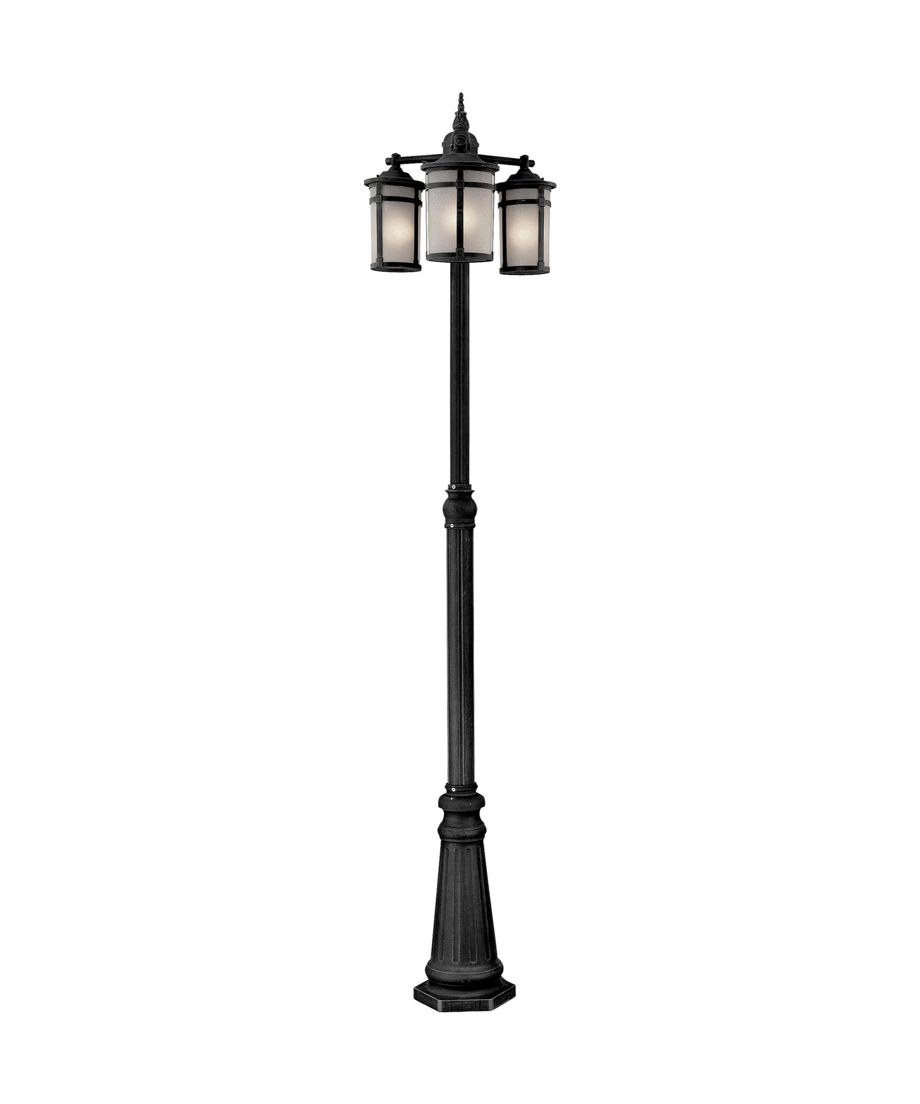moritz 3 light outdoor post lamp capitol lighting 1. Black Bedroom Furniture Sets. Home Design Ideas