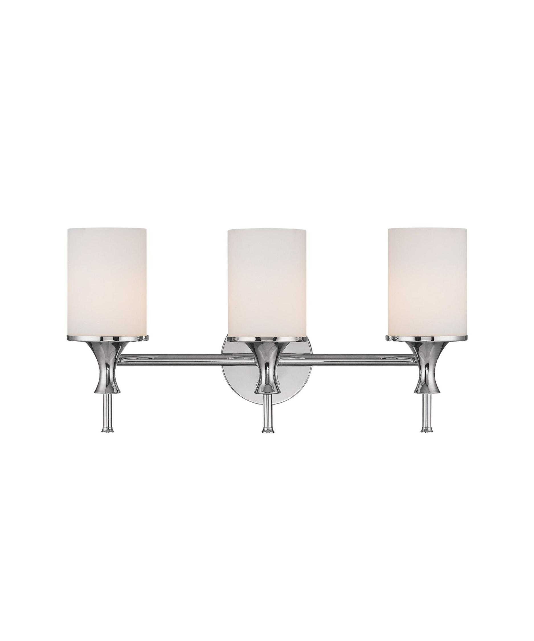 Bathroom Vanity Lights Polished Nickel capital lighting 1398 studio 20 inch wide bath vanity light