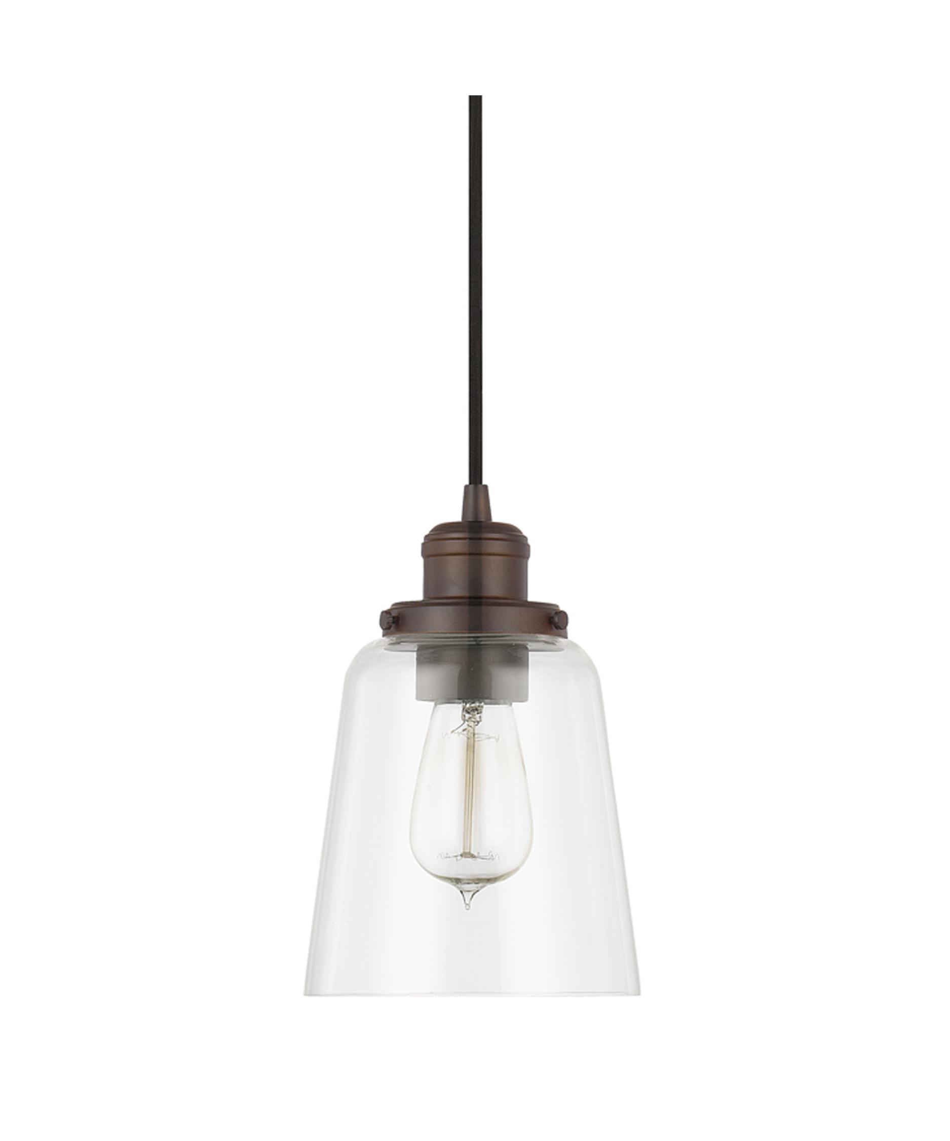 capital lighting 6 inch wide 1 light mini pendant capitol lighting - Capital Lighting