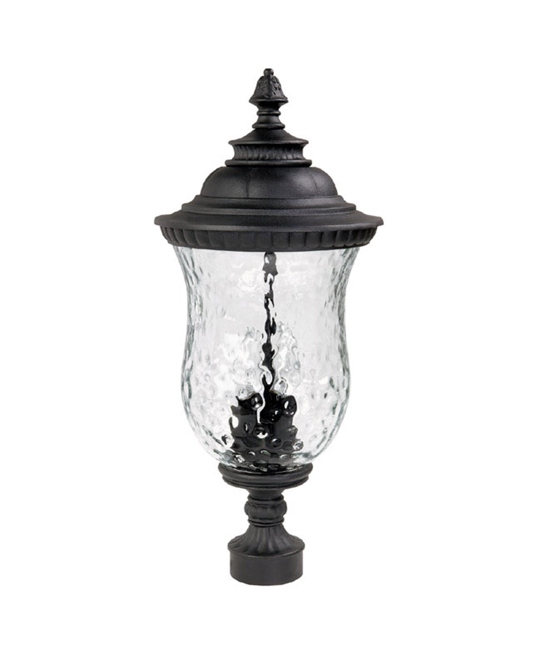 shown in black finish and hammered glass - Capital Lighting