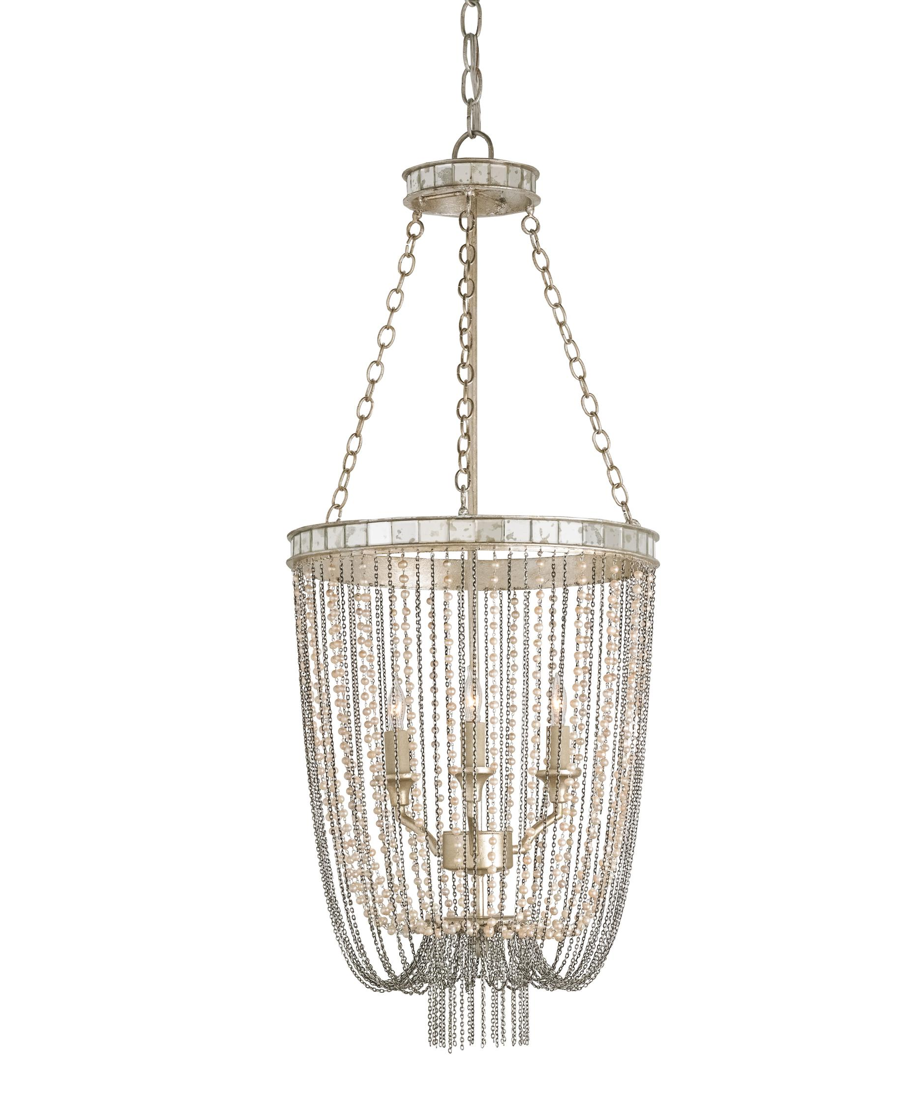 Currey and Company Socialite 14 Inch Wide 3 Light Mini Chandelier – Currey and Company Lighting Chandeliers