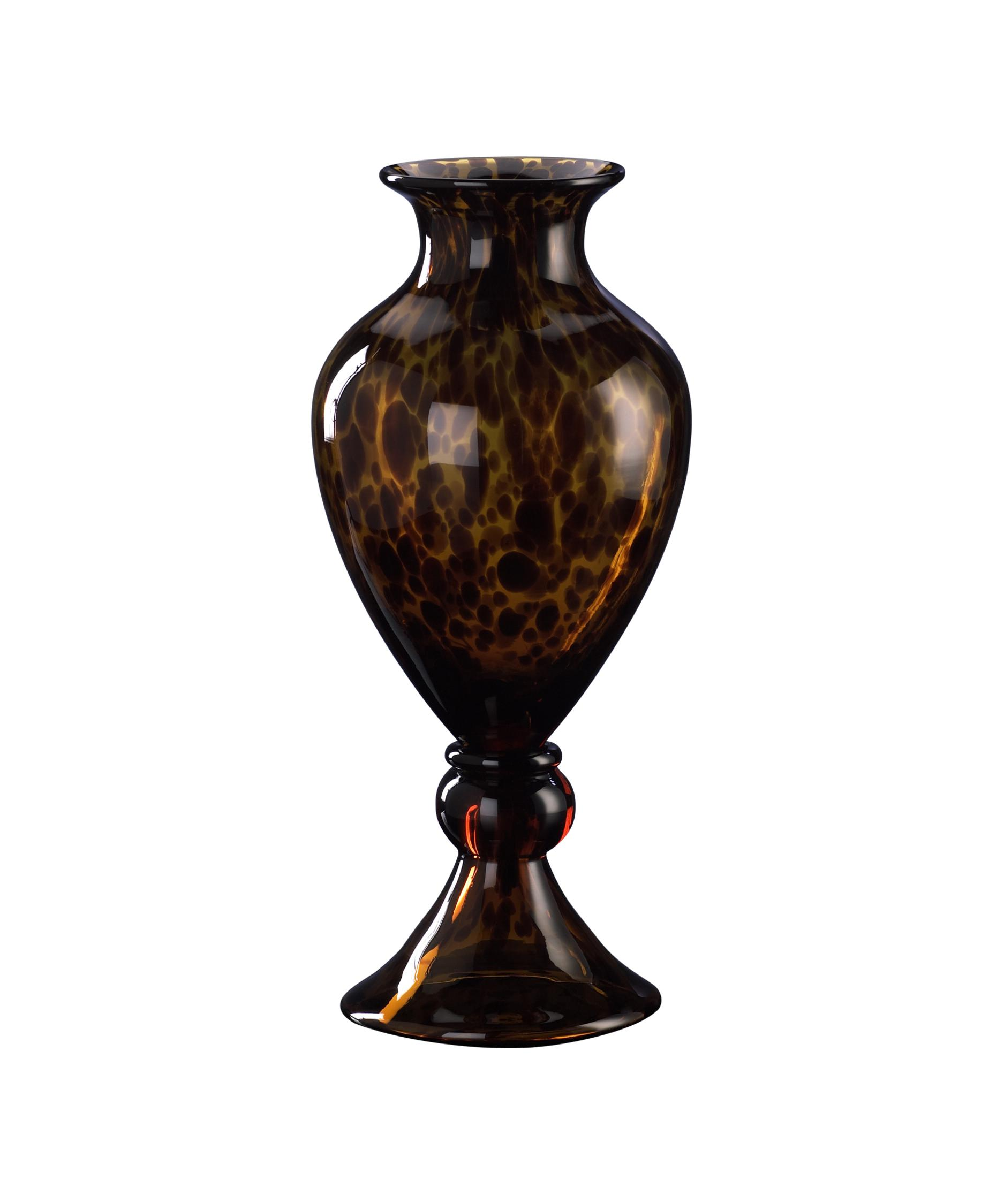 cyan design 00553 tortoise shell vase-urn | capitol lighting 1