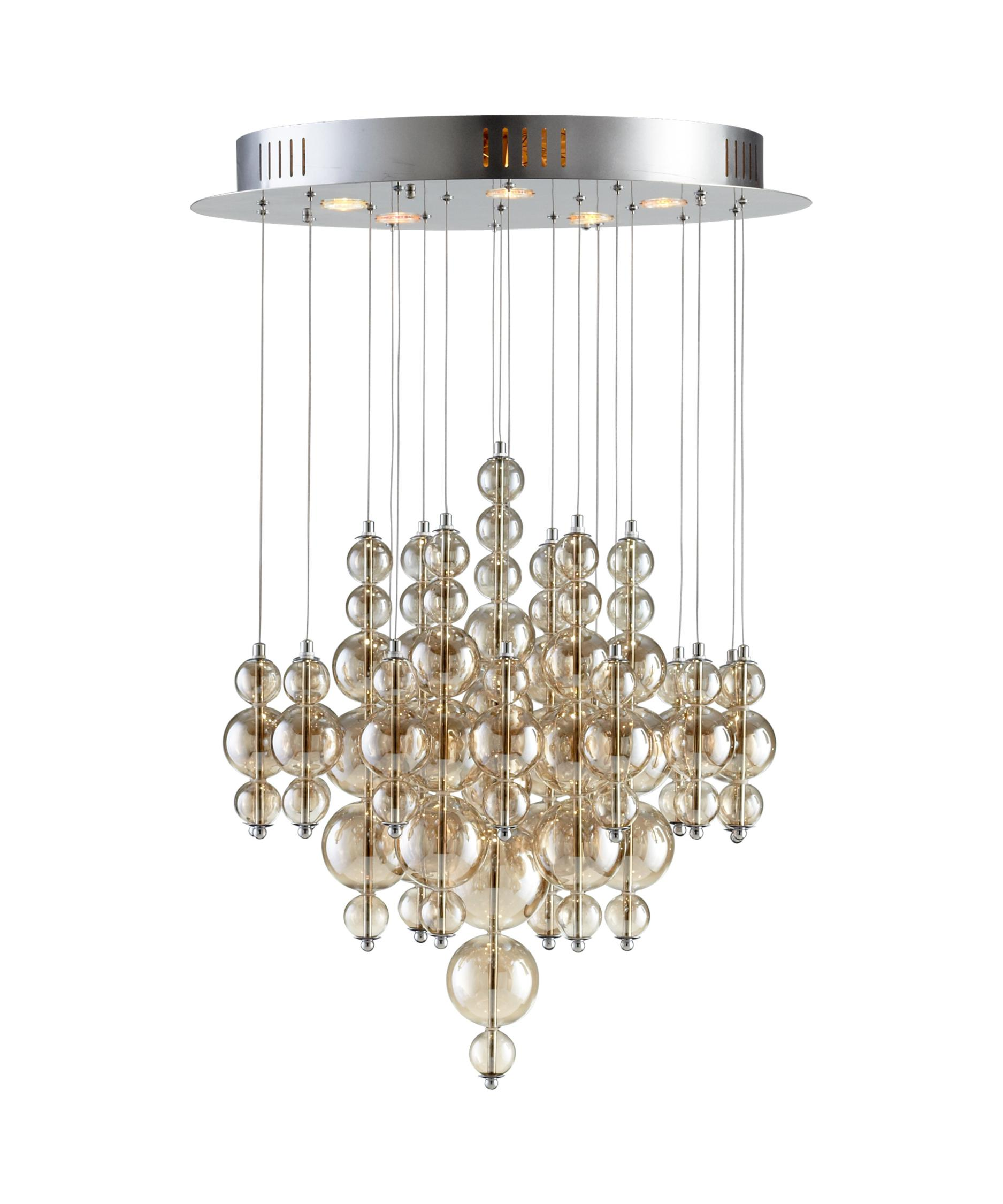 cyan design 05278 bubbles multi pendant light | capitol lighting 1