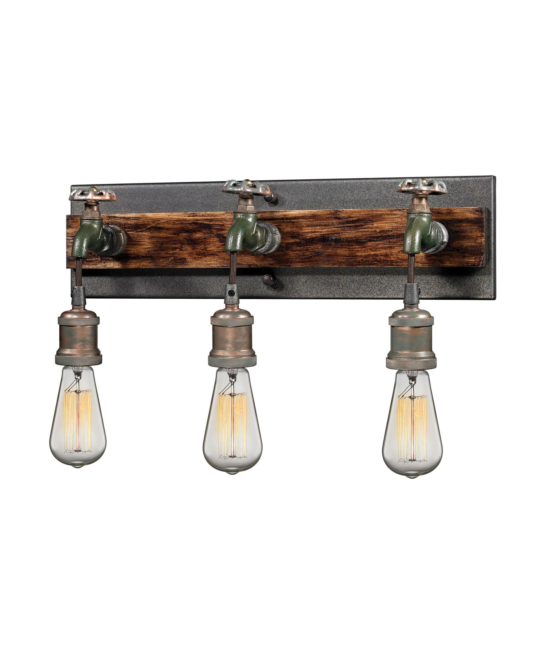 Elk Bathroom Lighting Fixtures elk lighting 14282-3 jonas 19 inch wide bath vanity light