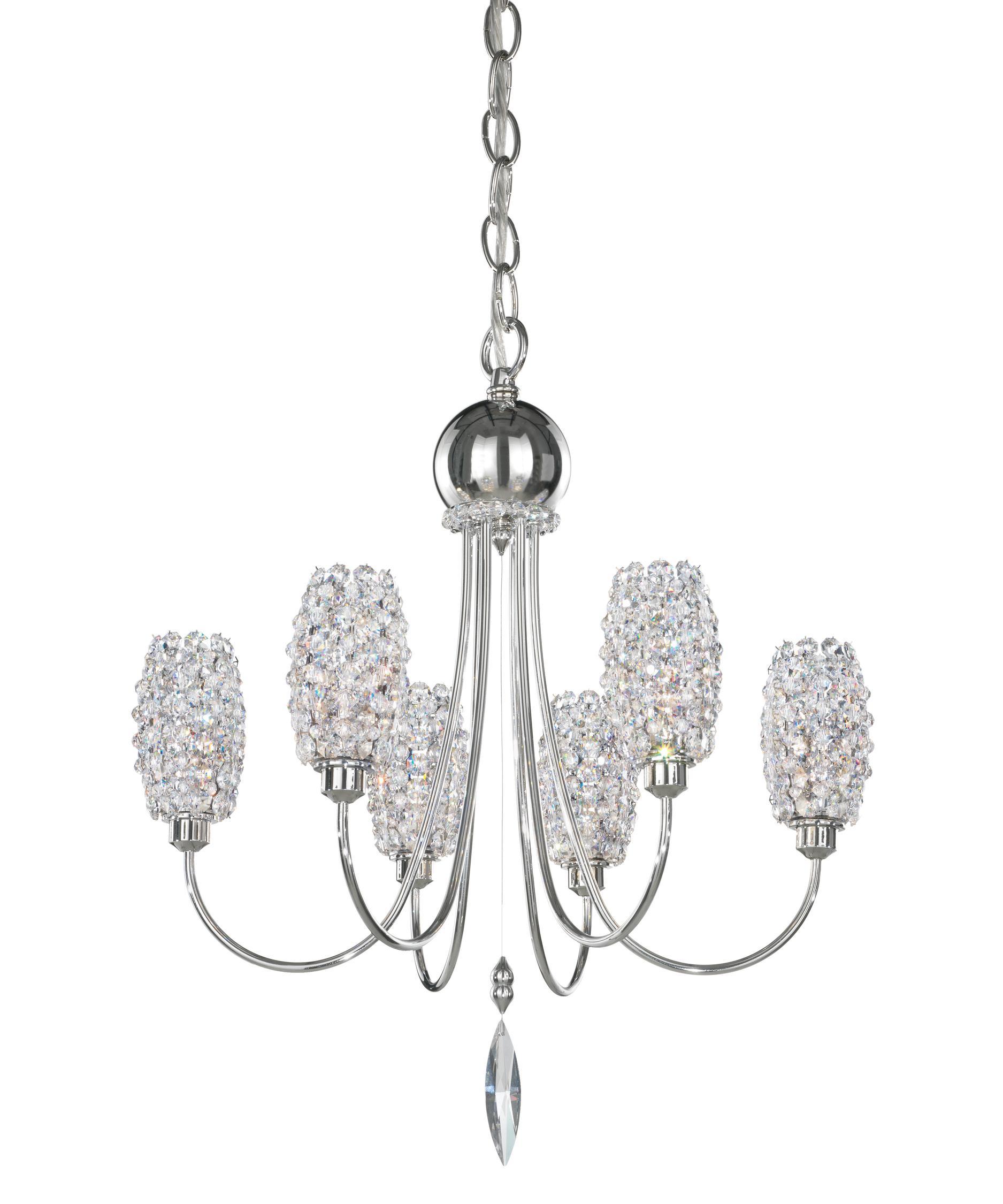 geometrix by schonbek di1619 dionyx 16 inch wide 6 light mini chandelier capitol lighting - Schonbek