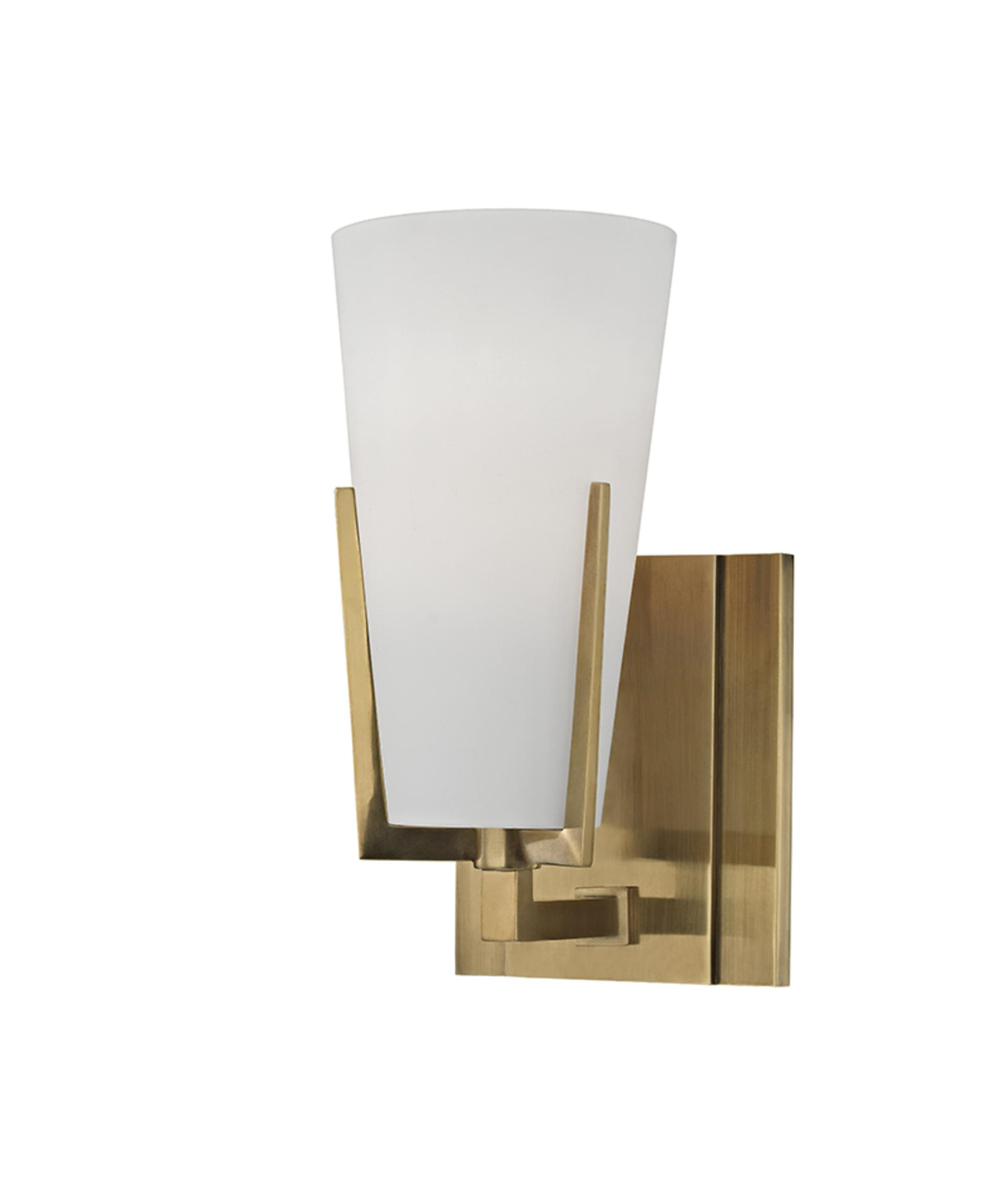 Bathroom Lighting Sconces hudson valley 1801 upton 4 inch wide wall sconce | capitol