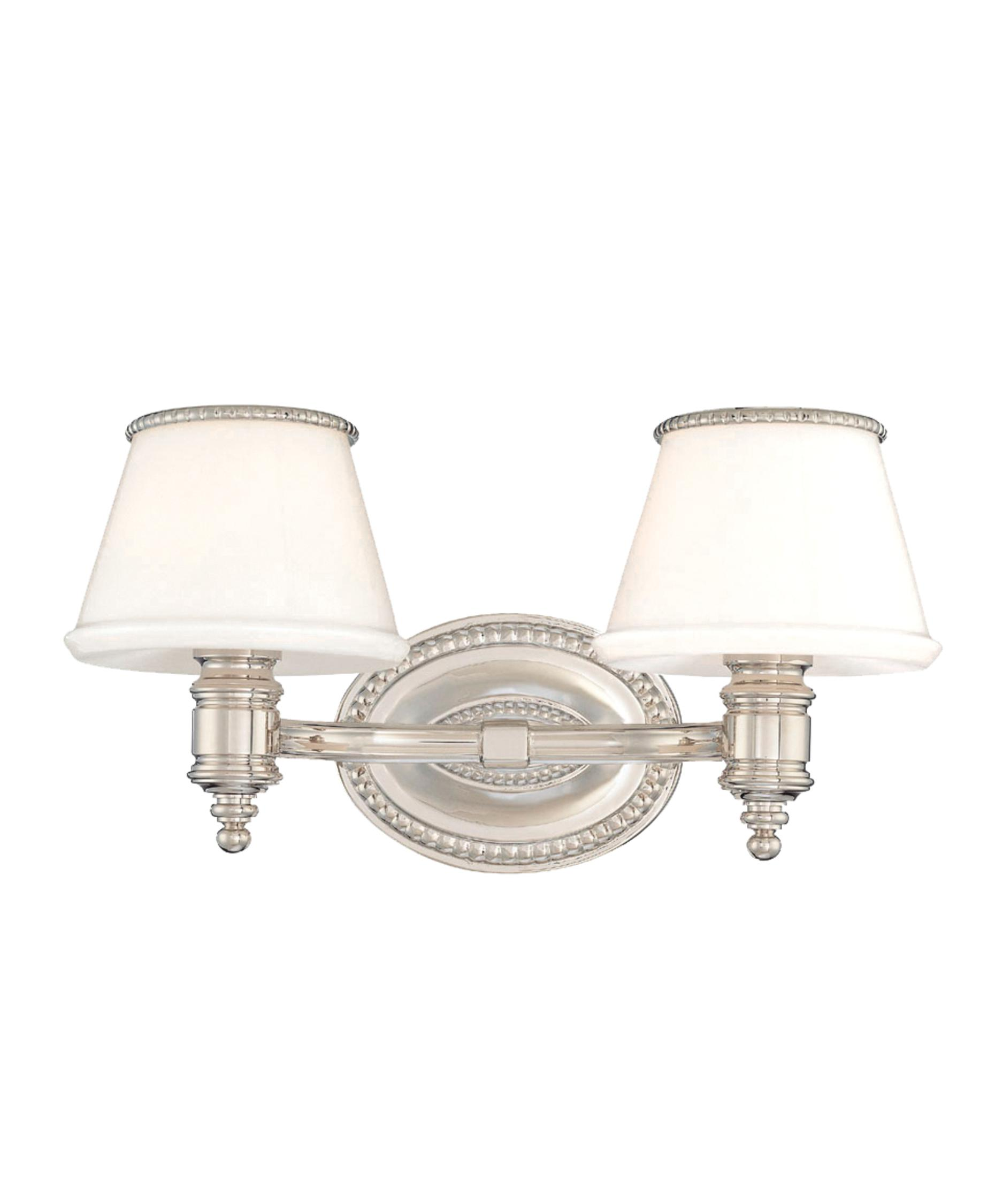 Bathroom Vanity Lights Polished Nickel hudson valley 4942 richmond 15 inch wide bath vanity light