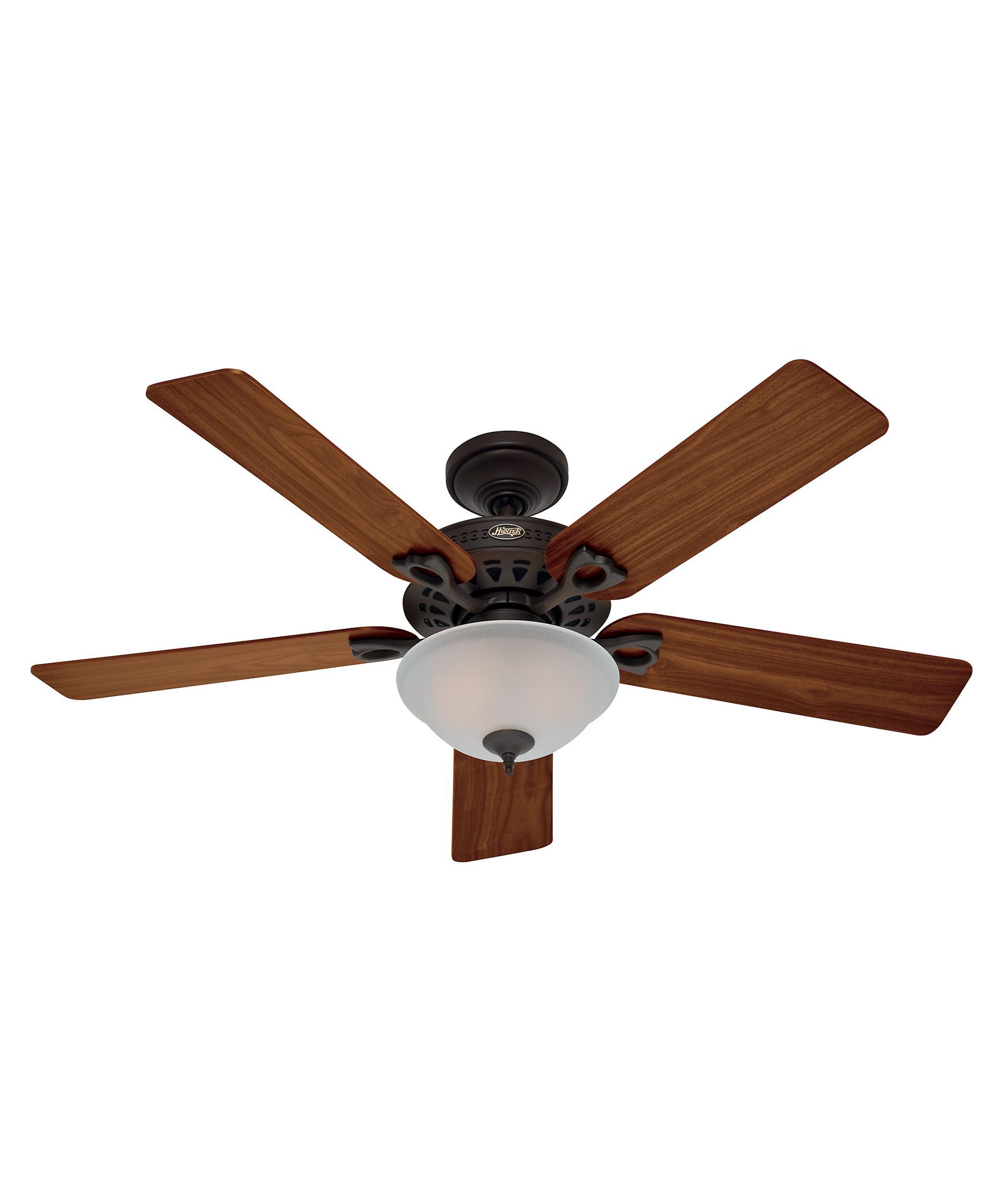 hunter fan 53057 astoria 52 inch ceiling fan with light kit capitol