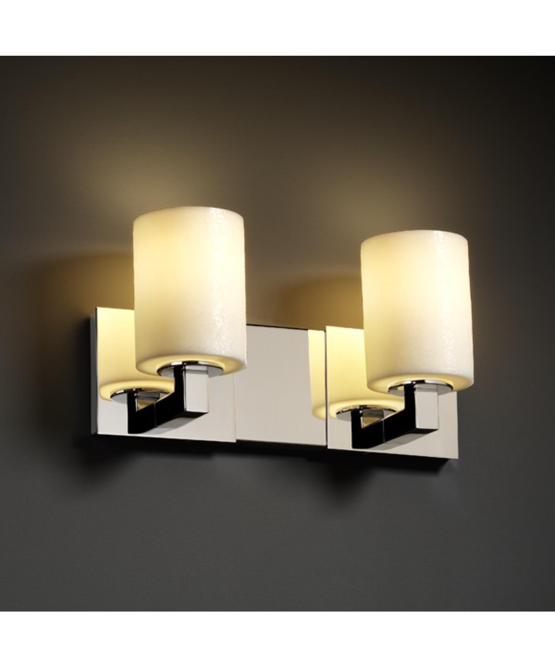 Justice Vanity Lights : Justice Design Group CNDL-8923 CandleAria Modular 27 Inch Bath Vanity Light Capitol Lighting 1 ...