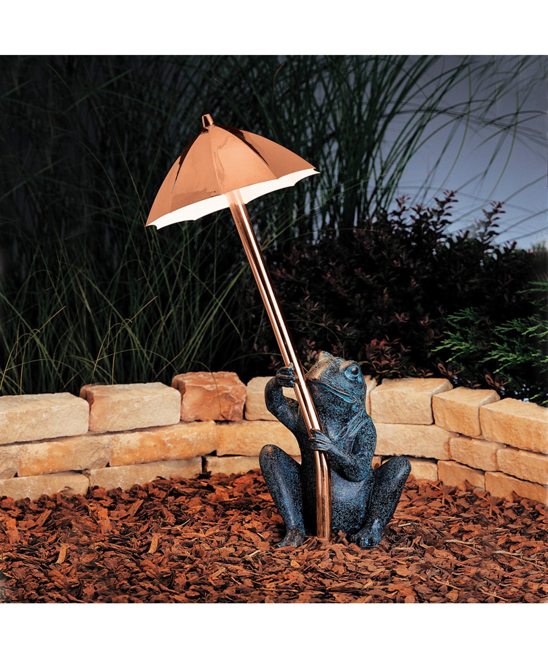 Kichler 15307 Frog and Umbrella 1 Light Pathway Light | Capitol ...