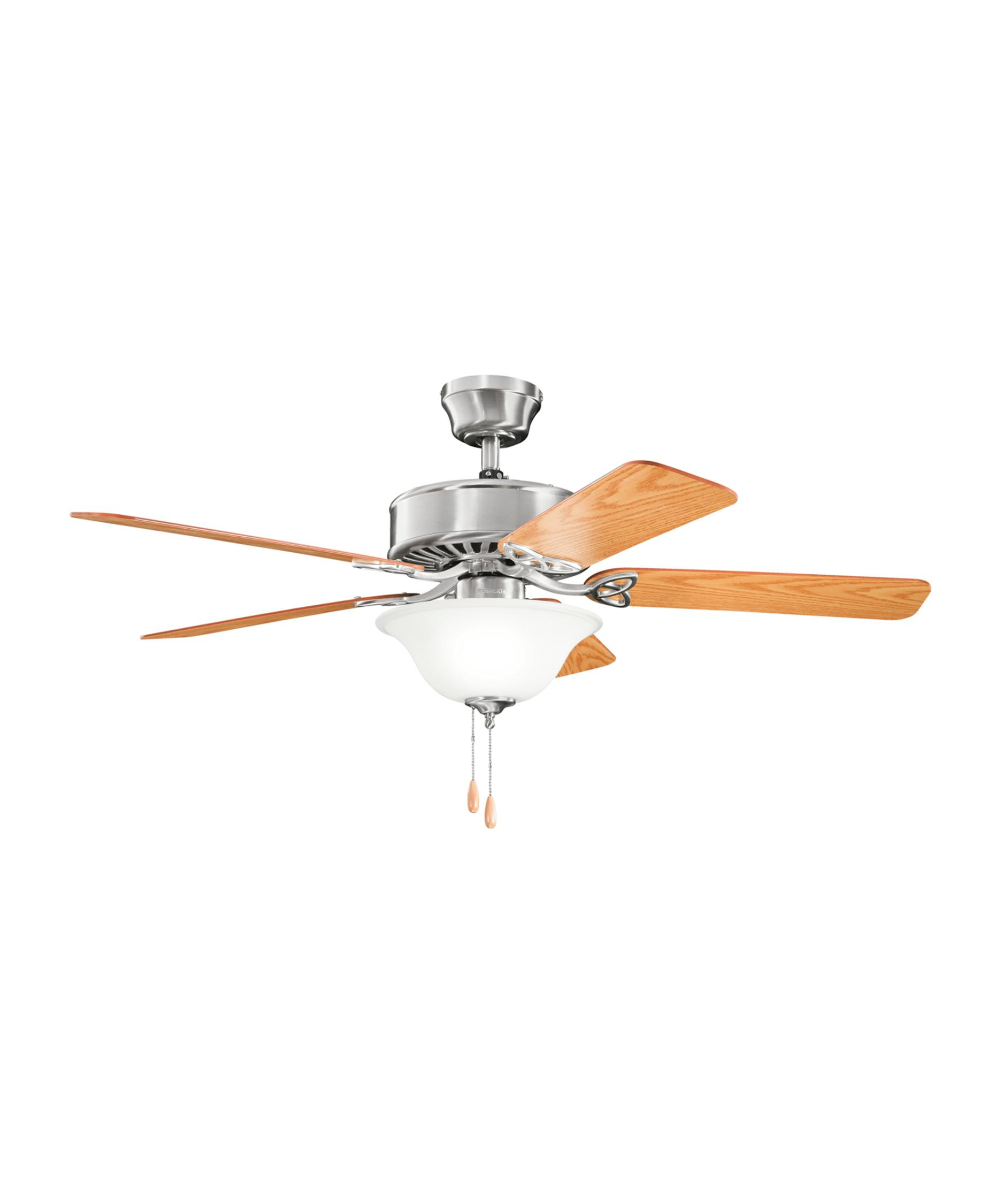 kichler renew select 50 inch 5 blade ceiling fan capitol lighting - Kichler Fans