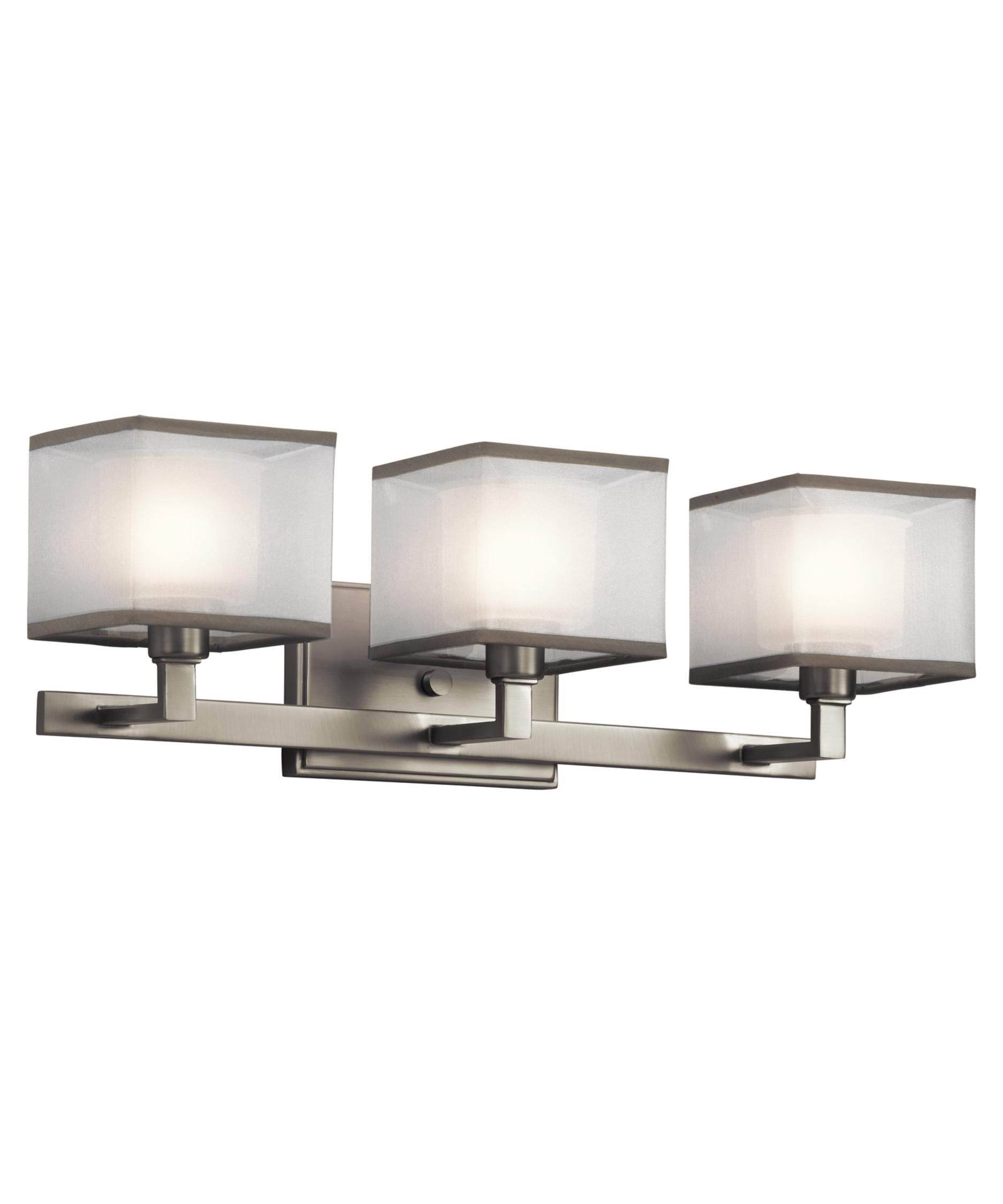 Bathroom Vanity Lights Kichler kichler 45439 kailey 22 inch wide bath vanity light | capitol