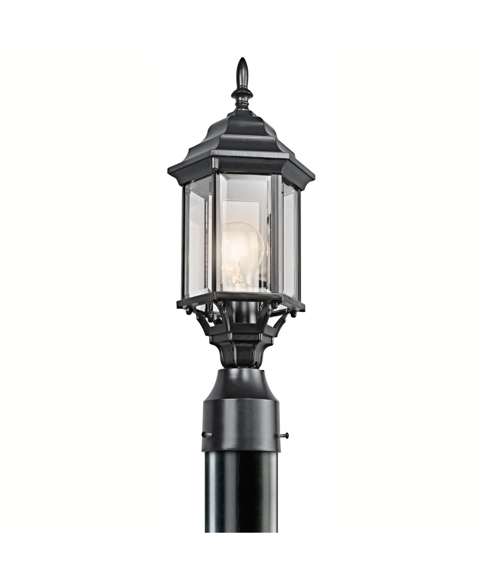 Kichler 49256 Chesapeake 1 Light Outdoor Post Lamp