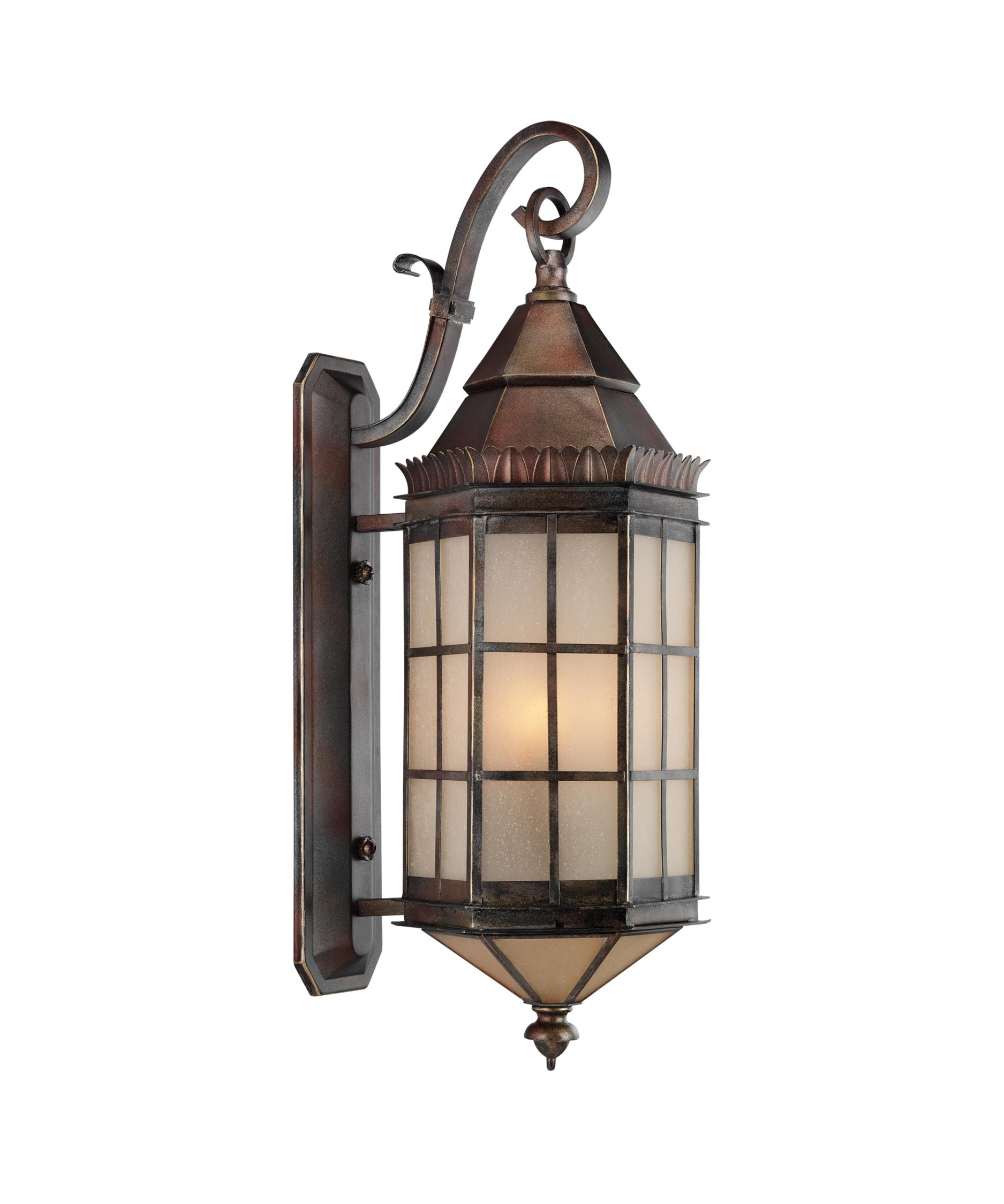 Hudson Valley Lighting Barrington: Kichler 9140 Barrington 3 Light Outdoor Wall Light
