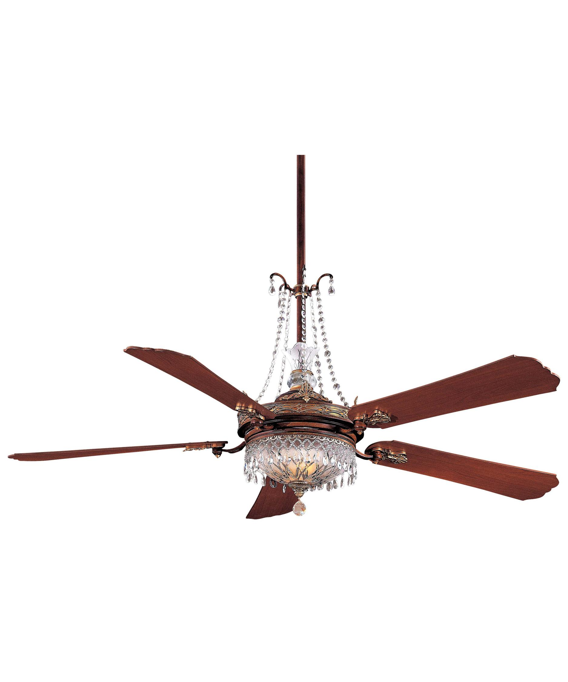 Murray Feiss Ceiling Fan Light Kit: Minka Aire F900 Cristafano 68 Inch Ceiling Fan With Light
