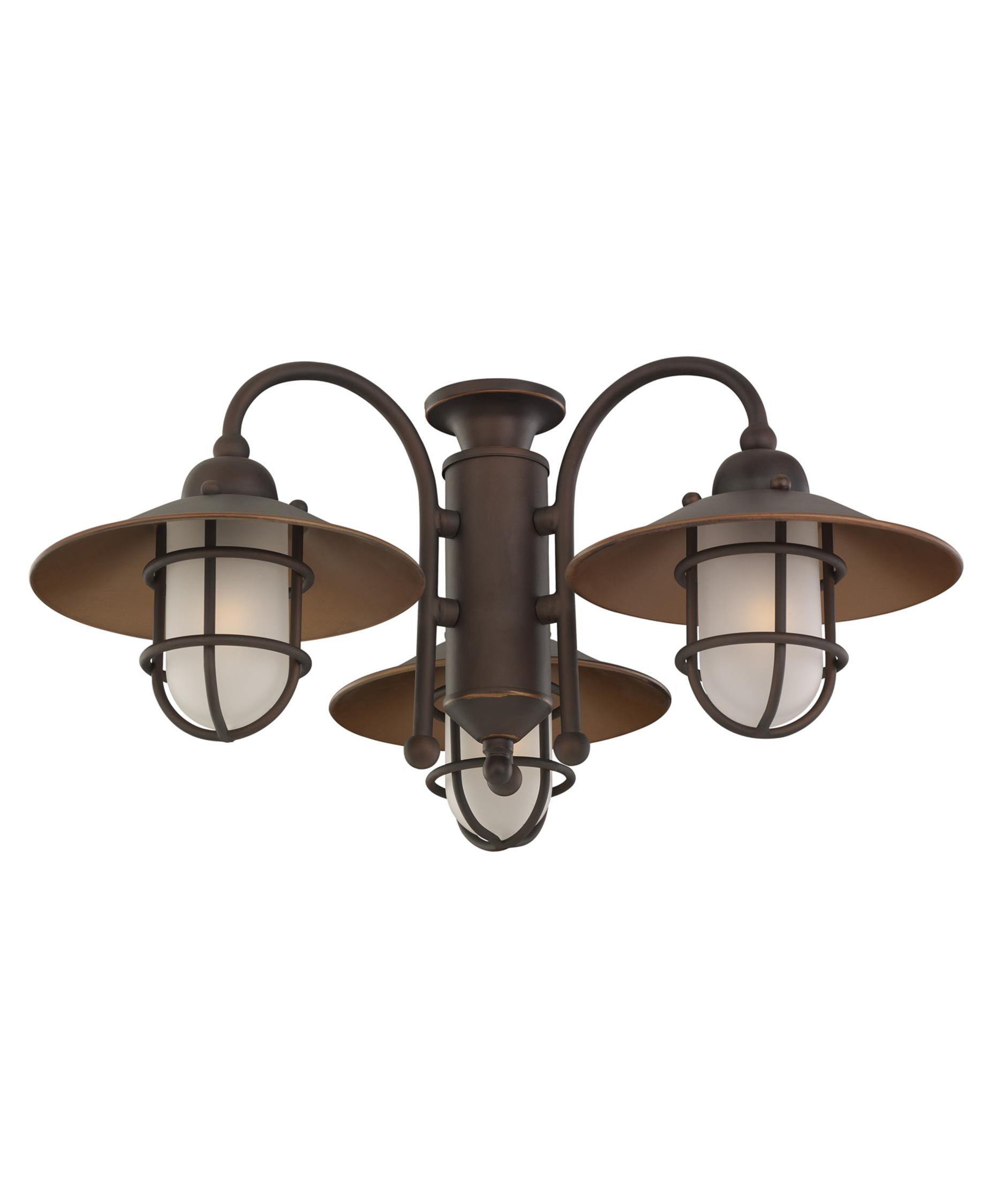 monte carlo mc89 railroad ceiling fan light kit capitol. Black Bedroom Furniture Sets. Home Design Ideas