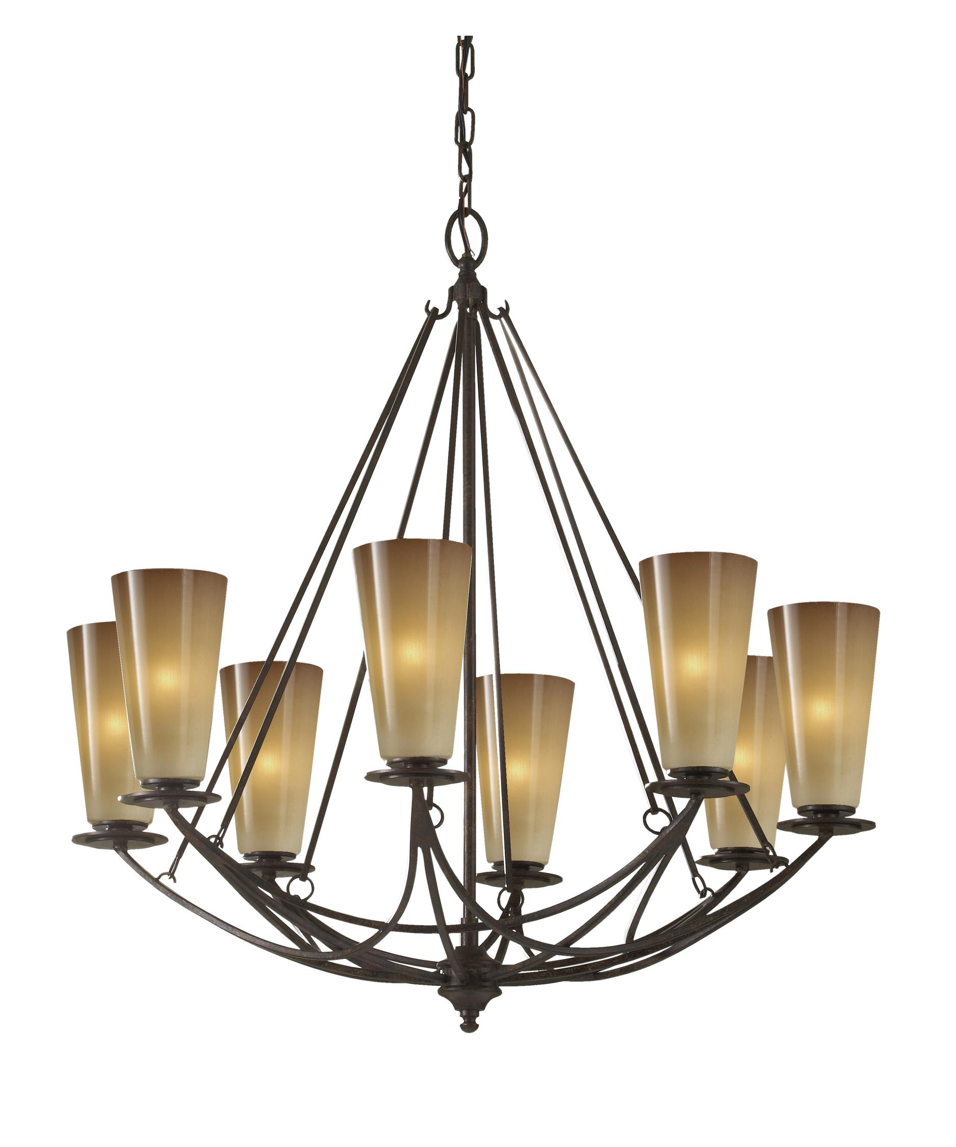 Murray Feiss El Nido 28 Inch Wide 8 Light Chandelier | Capitol ...
