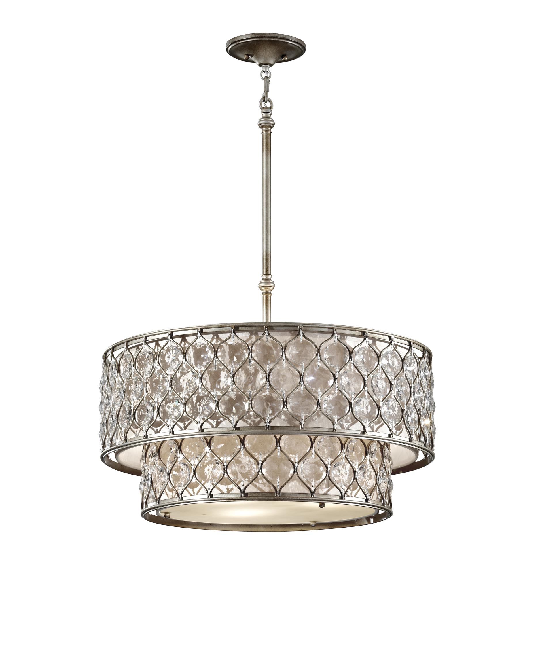 Murray Feiss F2707 6 Lucia 25 Inch Large Pendant Capitol  : f27076bus from www.1800lighting.com size 1875 x 2250 jpeg 247kB