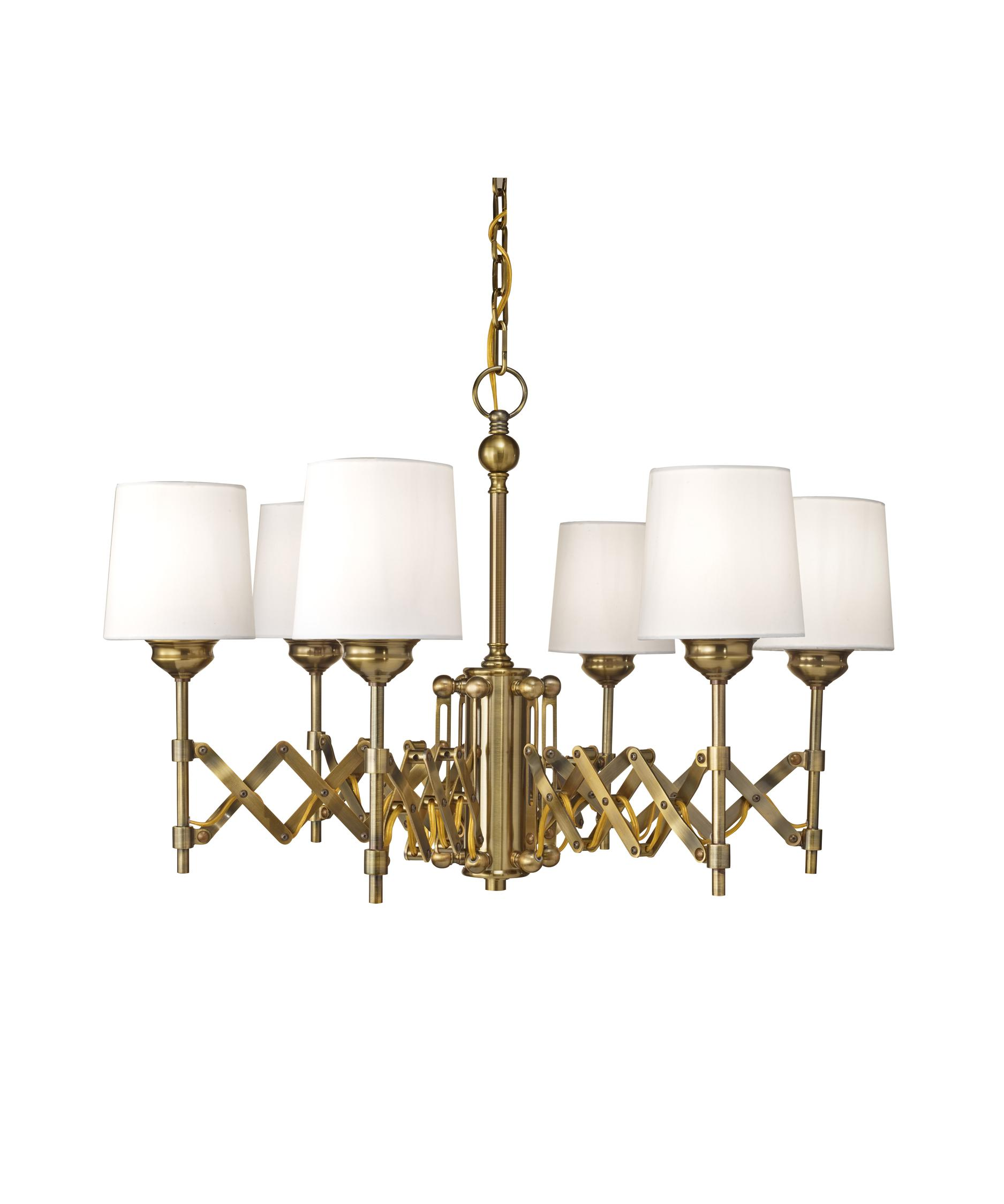 Murray Feiss Hugo 30 Inch Wide 6 Light Chandelier – Murray Feiss Chandeliers