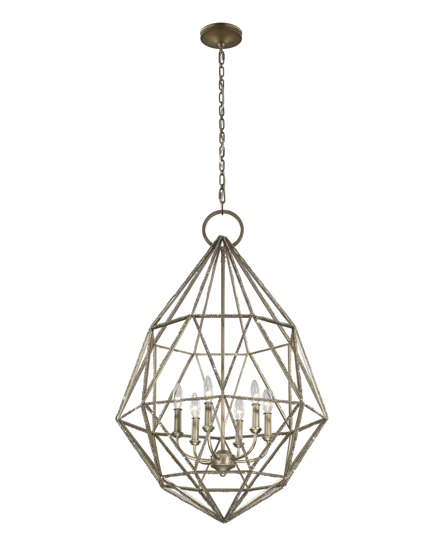 Murray Feiss Marquise 25 Inch Wide 6 Light Chandelier – Murray Feiss Chandeliers