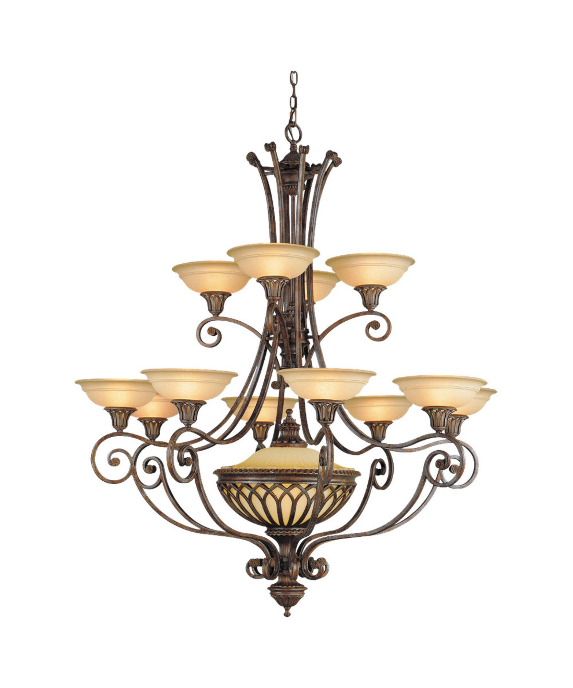 Murray Feiss Stirling Castle 47 Inch Wide 12 Light Chandelier – Murray Feiss Chandeliers