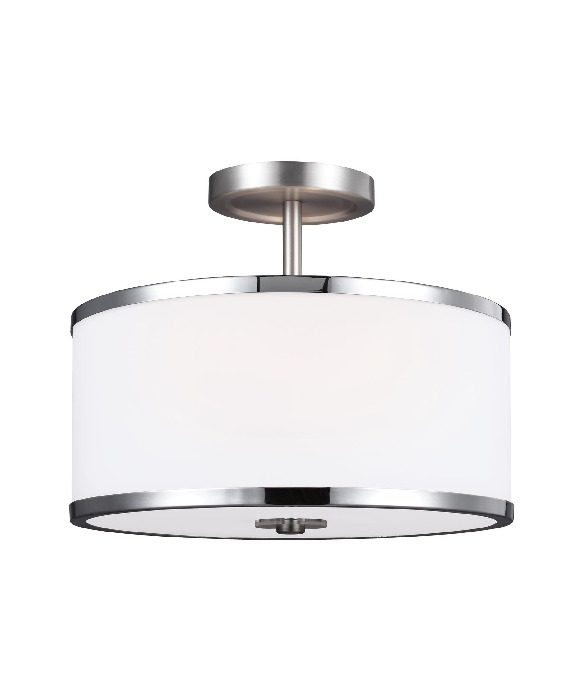 murray feiss sf335 prospect park 13 inch wide semi flush mount