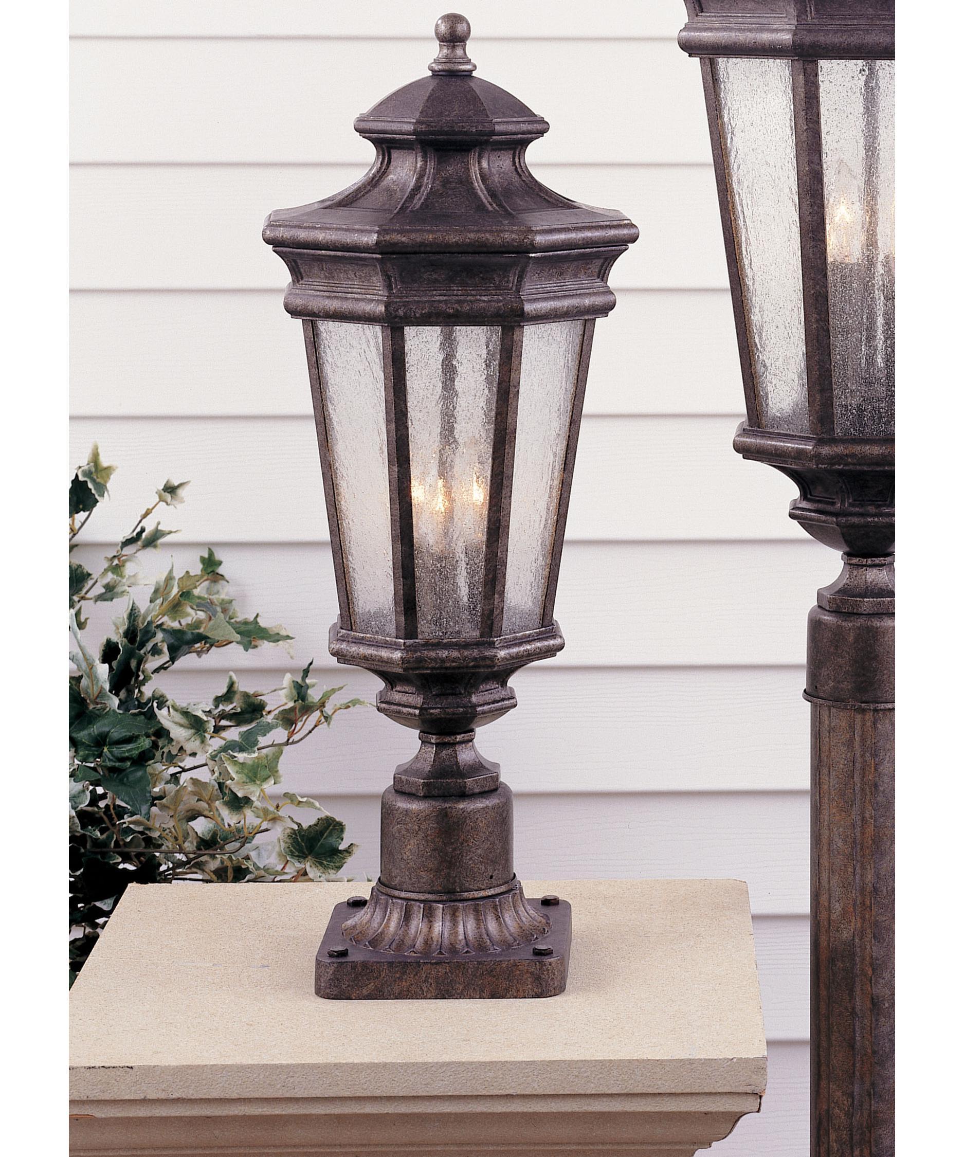 Murray Feiss Outdoor Lighting: Murray Feiss OL2907 Castille 3 Light Outdoor Post Lamp