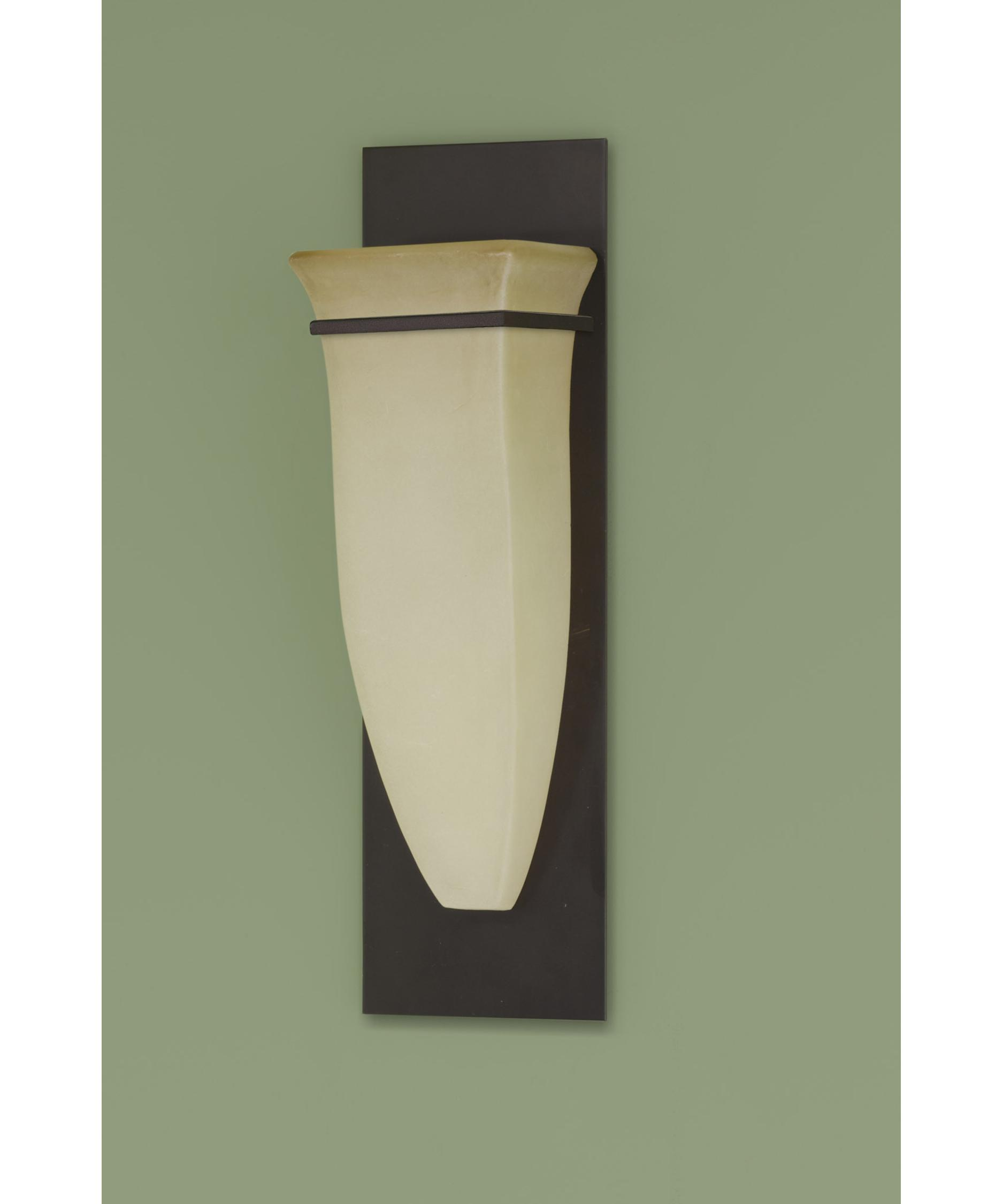 Bathroom Sconces Oil Rubbed Bronze murray feiss wb1329 american foursquare 5 inch wide wall sconce