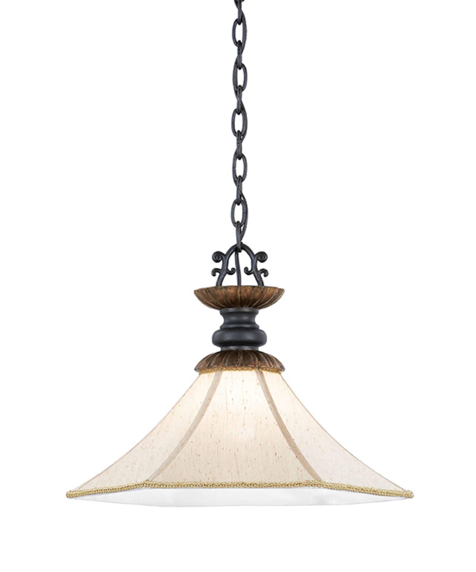 Nulco Lighting  French Country  Inch Wide  Light Large - French country pendant lighting