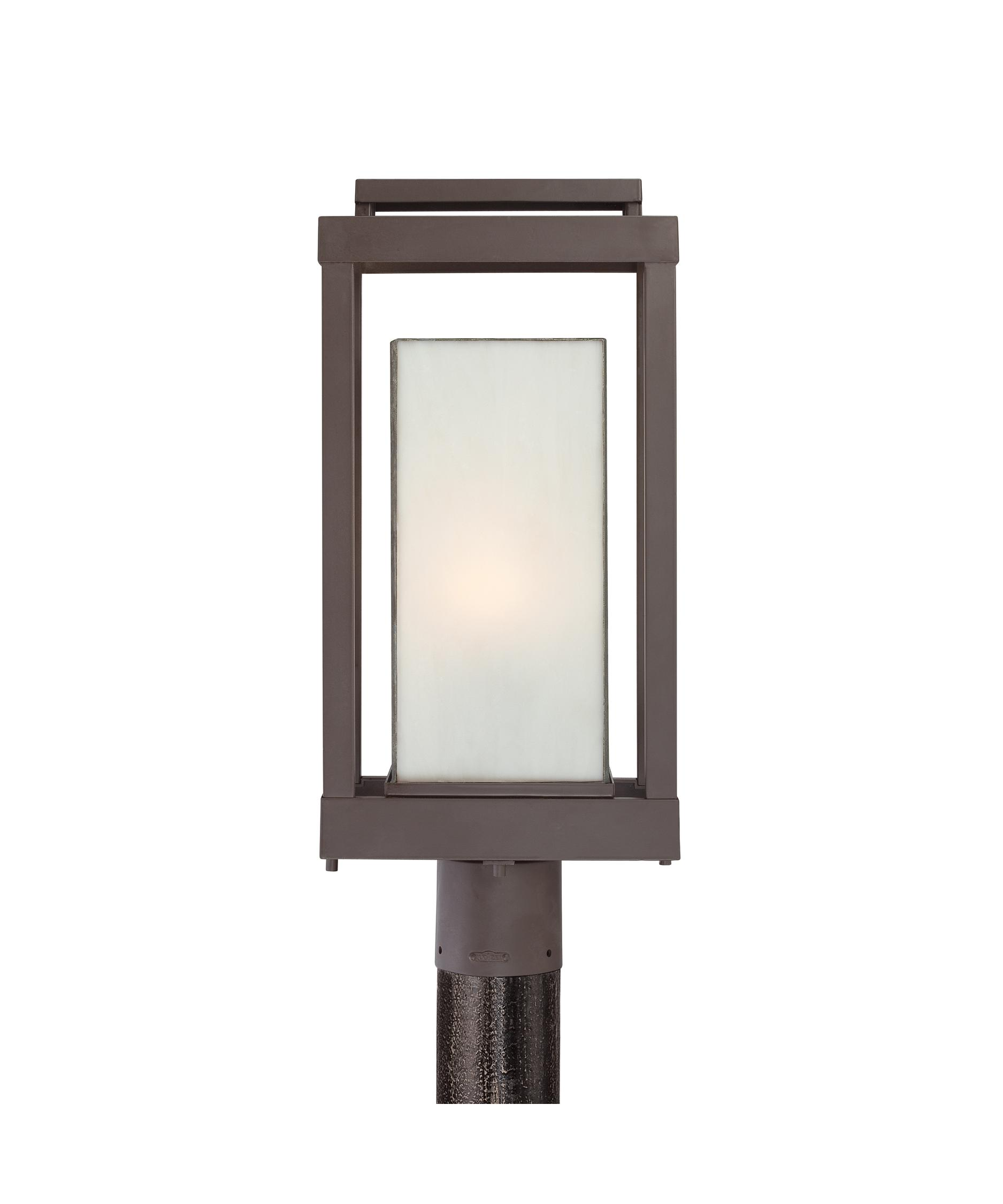 Quoizel PWL9009 Powell 9 Inch Wide 1 Light Outdoor Post Lamp ...