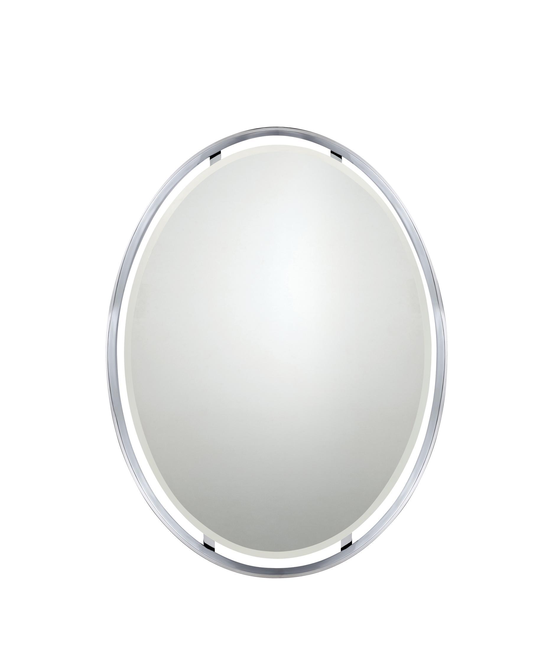 Chrome Wall Mirror quoizel uprz43426 uptown ritz wall mirror | capitol lighting 1