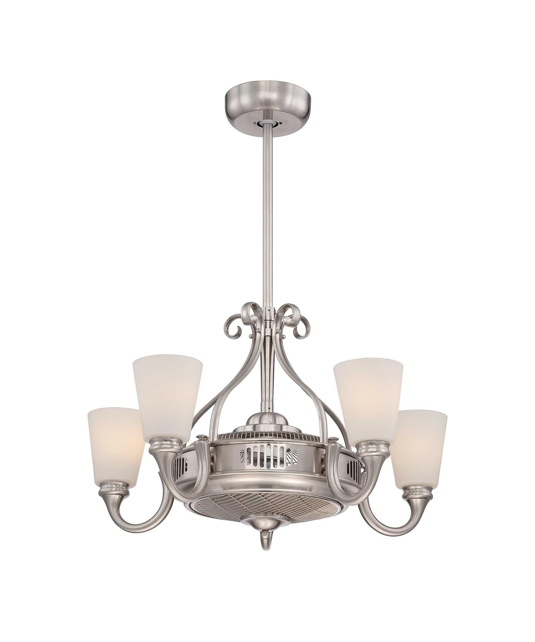 shown in satin nickel finish and white frosted glass - Savoy Lighting