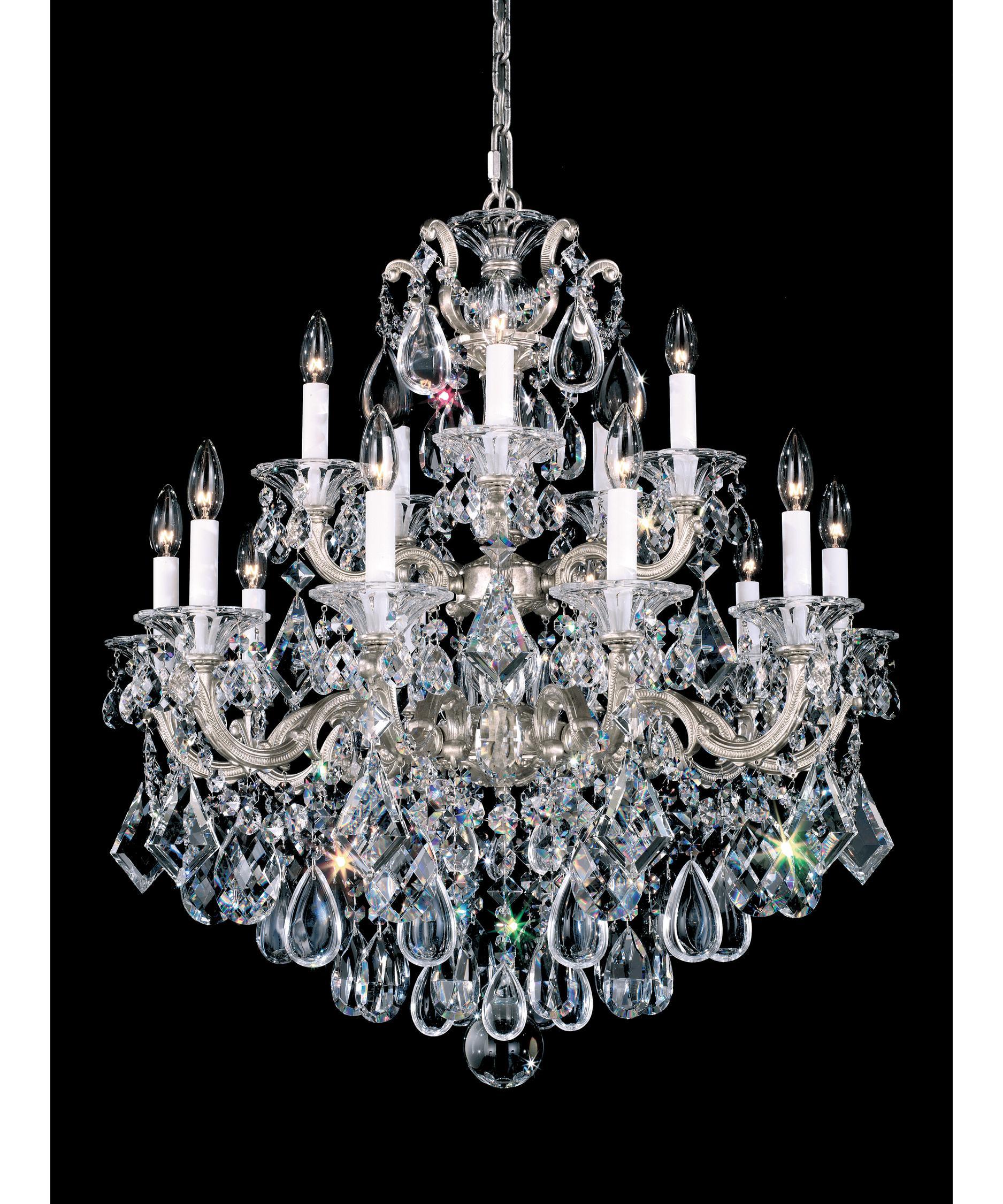 Schonbek La Scala 28 Inch Wide 15 Light Chandelier – La Scala Chandelier
