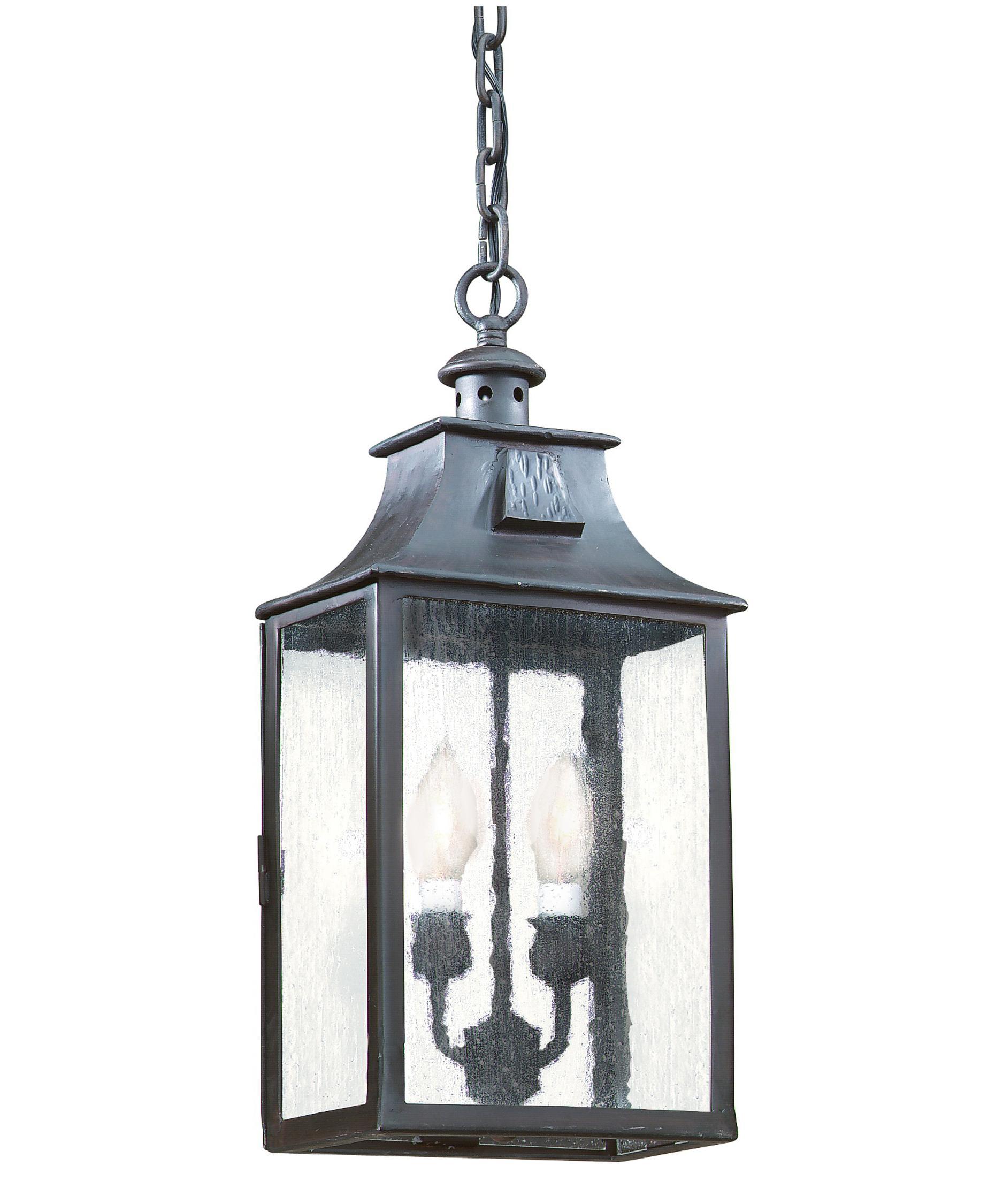 Outdoor hanging lighting - Troy Lighting F9004 Newton 9 Inch Wide 2 Light Outdoor Hanging Lantern Capitol Lighting 1 800lighting Com