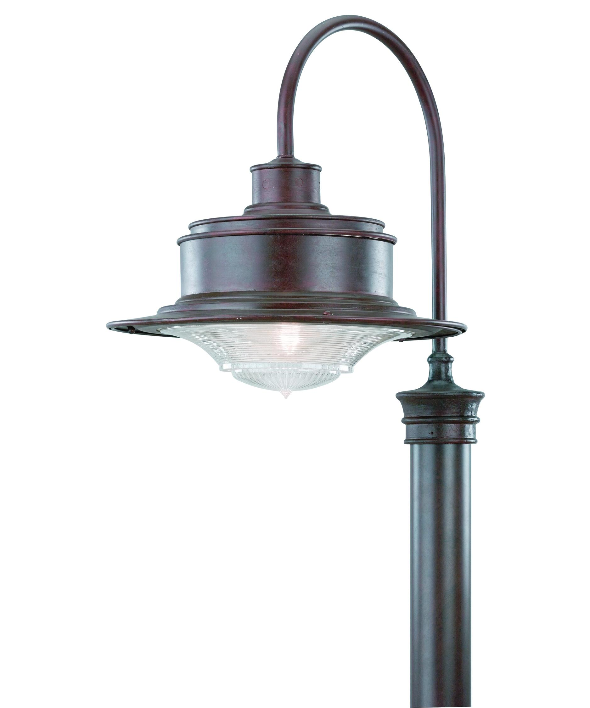 Outdoor Post Light Bulbs: Troy Lighting P9394 South Street 1 Light Outdoor Post Lamp