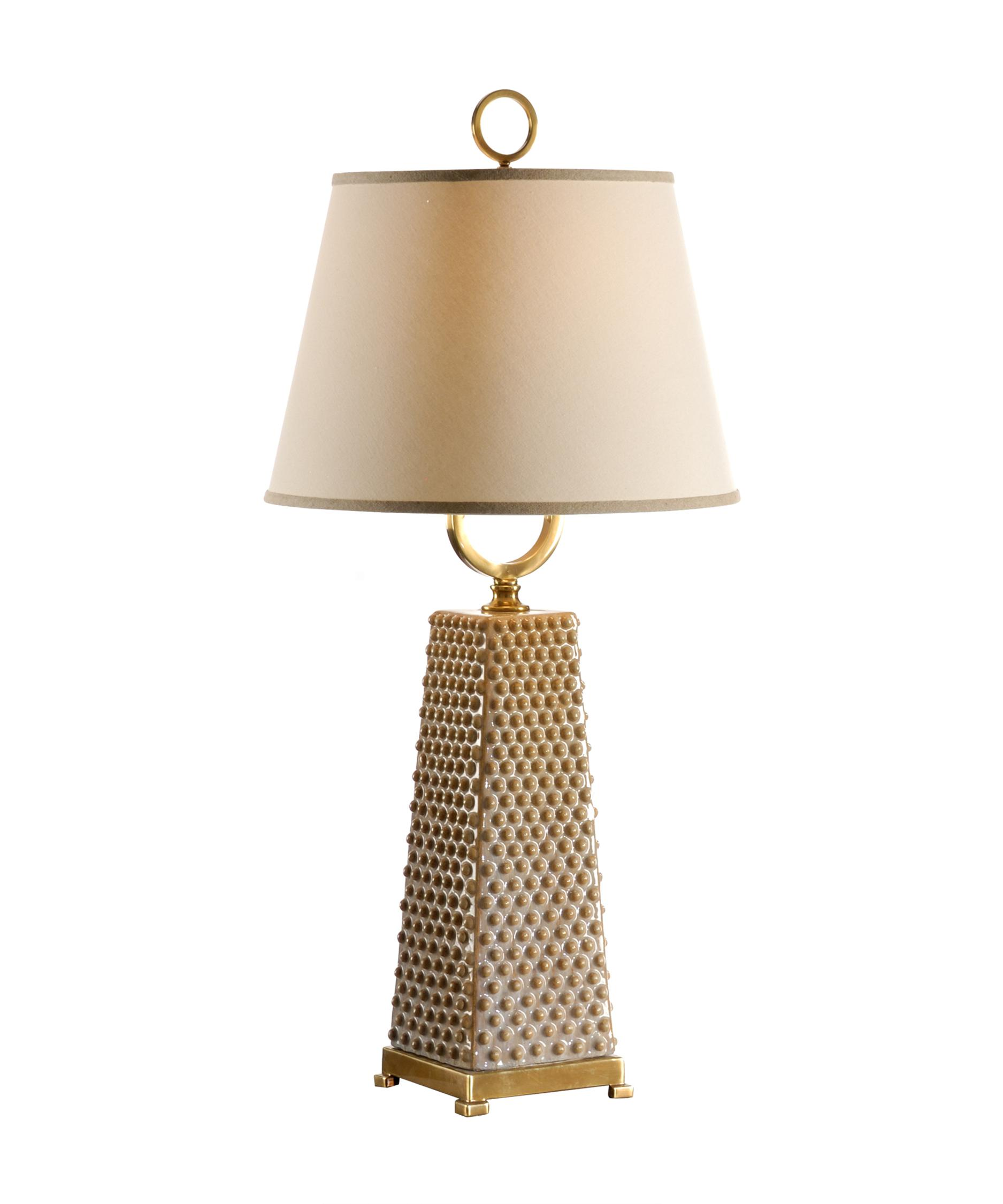 Wildwood Dotted Pyramid With Ring 36 Inch Table Lamp