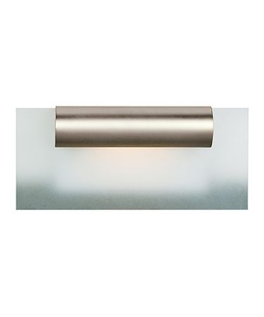 Shown in Satin Chrome finish and Frosted glass