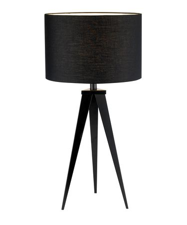 Shown in Black finish and Black shade