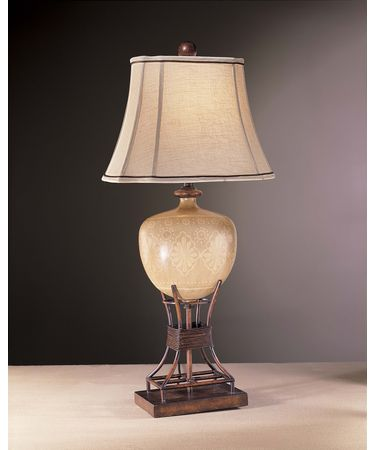 Shown in Beige on Beige with Rustic Iron finish