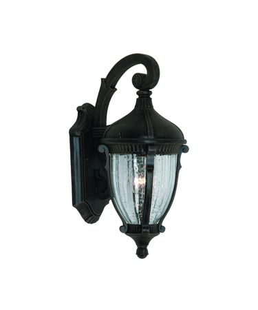 Shown in Oil Rubbed Bronze finish, Optic Clear glass and Crinkled Linen shade