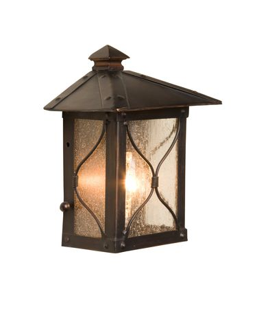 Shown in Rust finish and White String shade