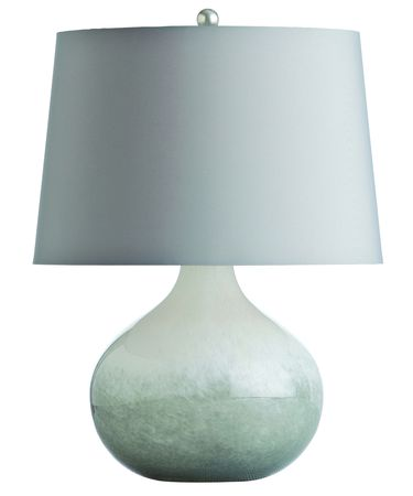 Shown in Gray-White finish and White glass