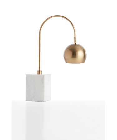 Shown in Vintage Brass finish and Yellow Brass shade