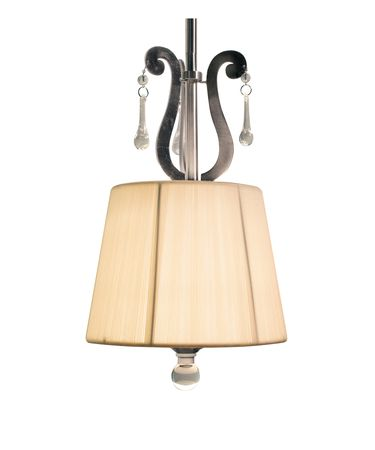 Shown in Pewter finish and Silk shade