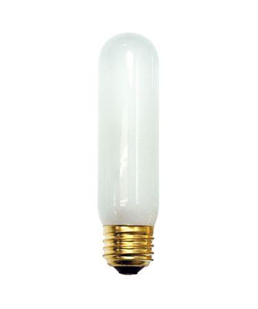 Bulbrite 60T10F 60 Watt 130 Volt Frosted T10 Bulb