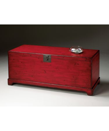 Shown in Red Distressed finish