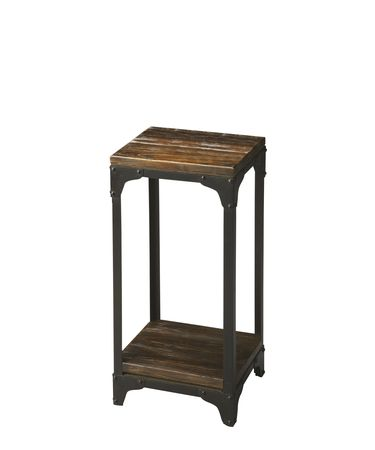 Shown in Iron And Acacia Solid Wood finish